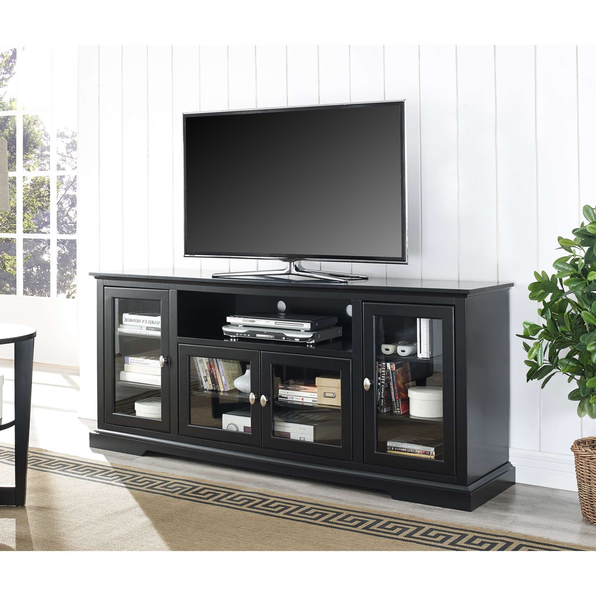 Swanky Tvs Up To Tv Media Then Shelves With Flat Screen Tv Cabinet Throughout Tall Black Tv Cabinets (View 15 of 20)
