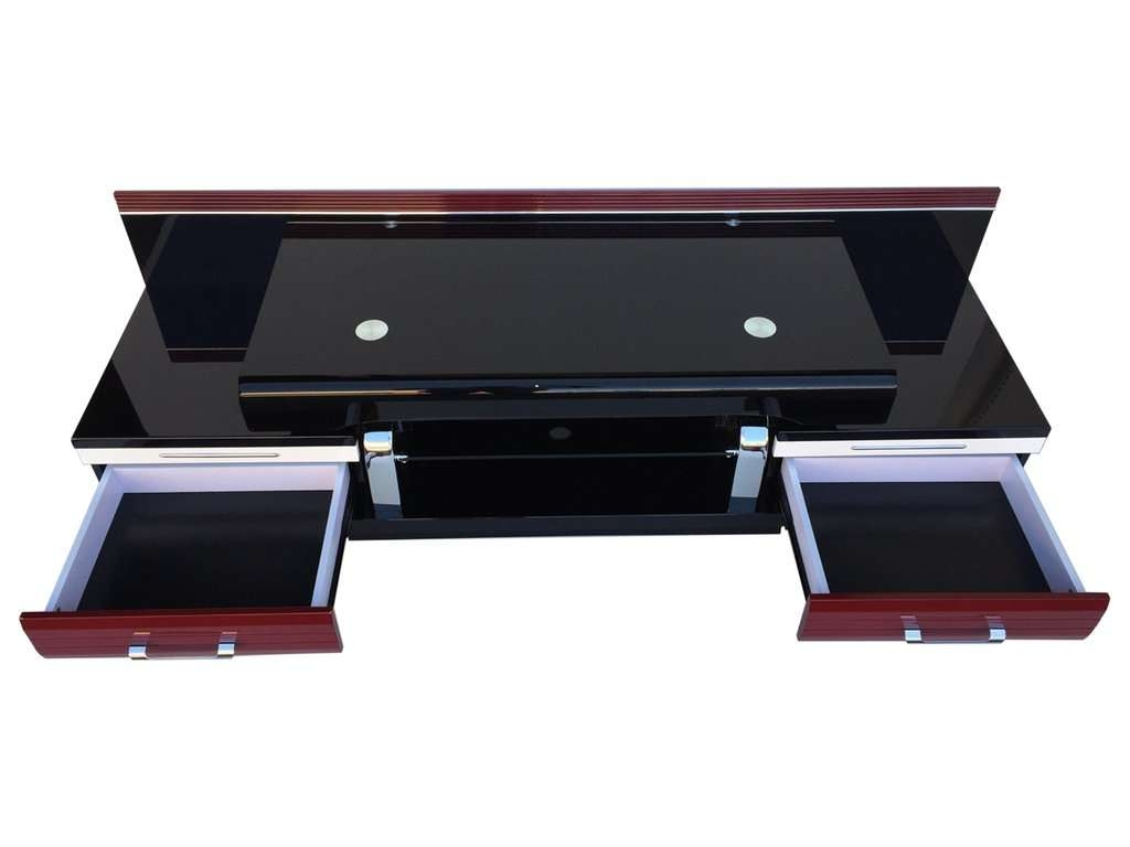 Sweet Techlink Opod Opr Tv Stand Gloss Red Tvs Up To Retro Chrome Throughout Black And Red Tv Stands (View 14 of 15)