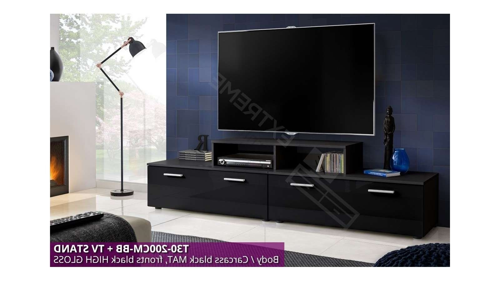T30 200cm + Tv Stand – Extreme Furniture Limited Intended For 100cm Tv Stands (View 15 of 15)