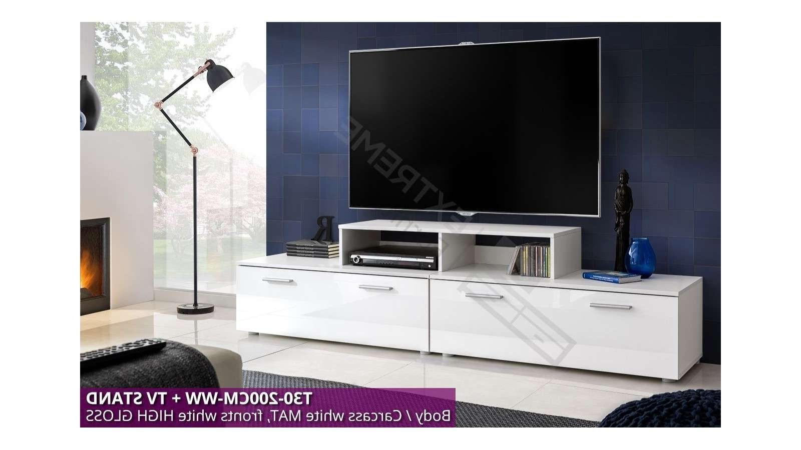 T30 200cm + Tv Stand – Extreme Furniture Limited With Tv Stands 100cm (View 9 of 15)