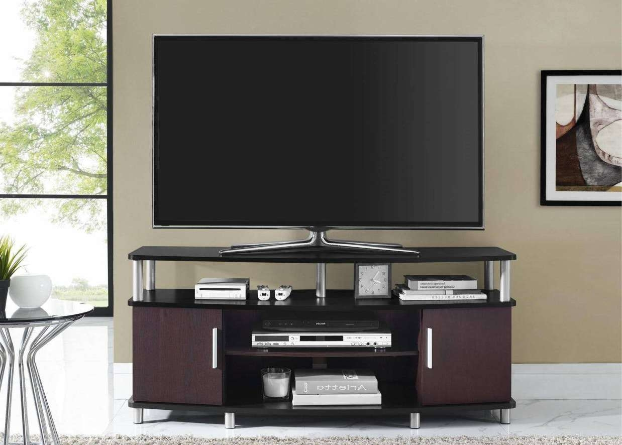 Table : Praiseworthy Walmart Tv Stands Whalen Awesome Walmart Tv With Unusual Tv Stands (View 15 of 15)