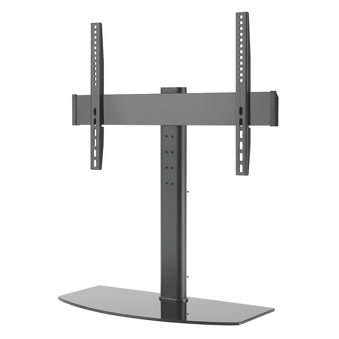 Tabletop Pedestal Bracket Tv Stand Lcd/led 42 55 Inch Swivel With Regard To Tabletop Tv Stands (View 8 of 15)