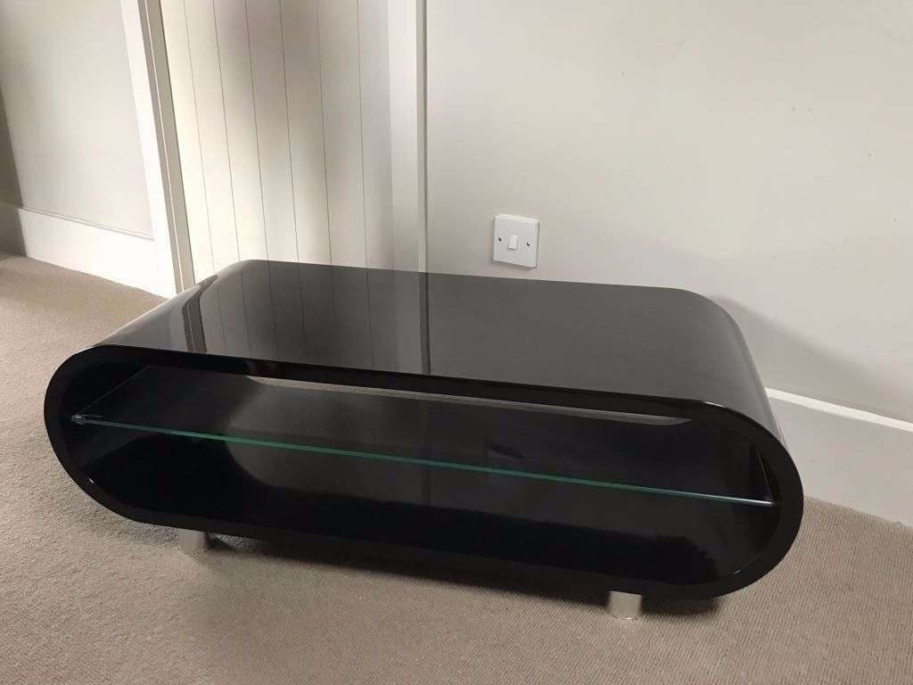 Techlink Ovid Tv Stand Black | In Cricklewood, London | Gumtree Inside Ovid Tv Stands Black (View 20 of 20)