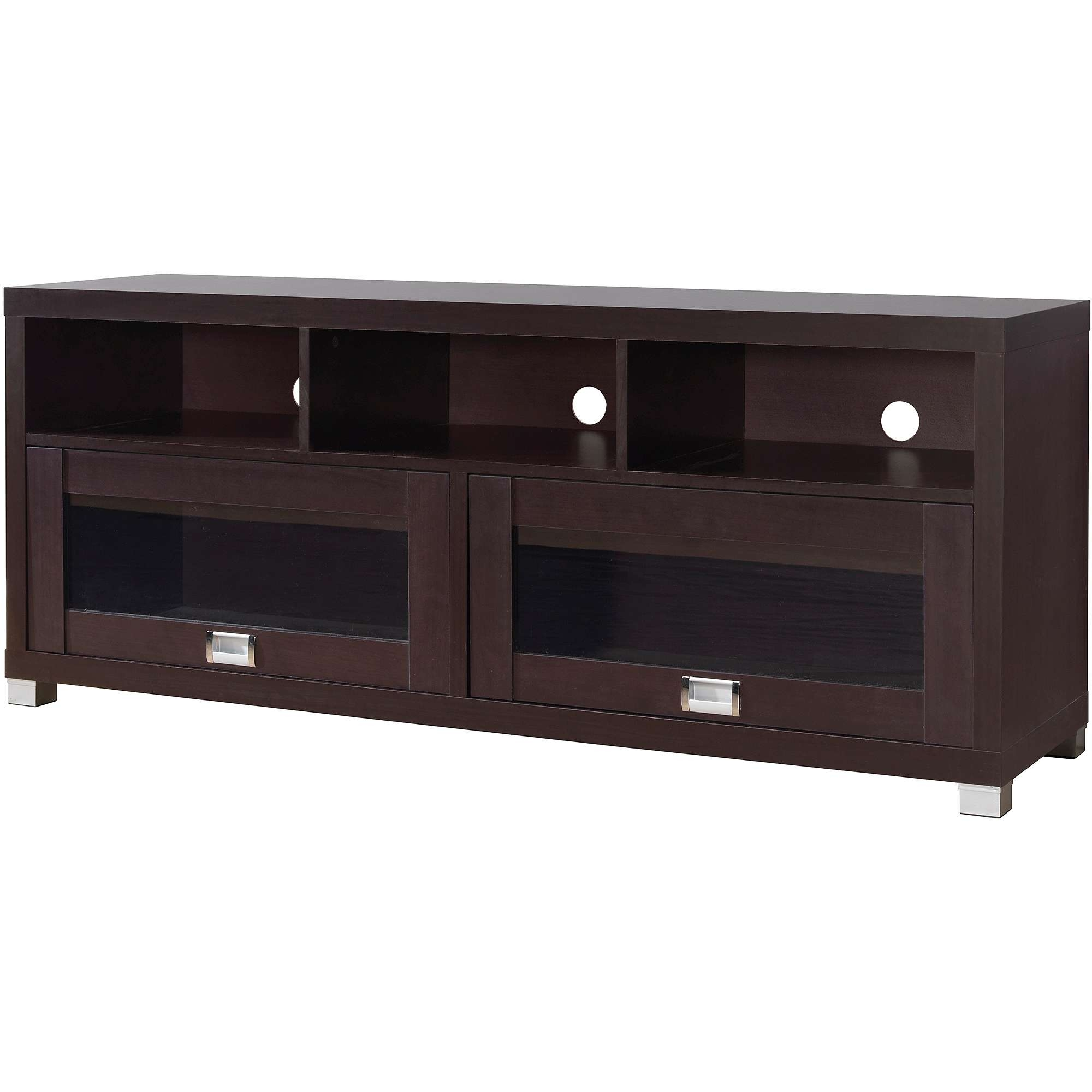 """Techni Mobili Durbin Tv Cabinet For Tvs Up To 65"""", Espresso For Expresso Tv Stands (View 12 of 15)"""