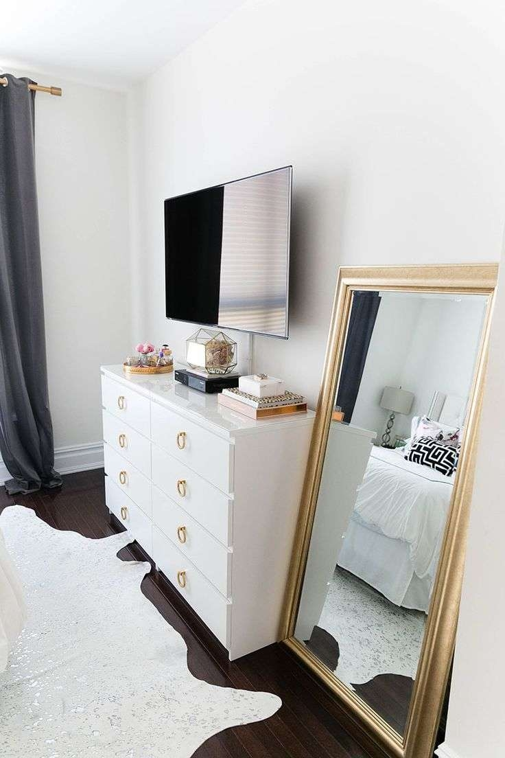 The 25+ Best Bedroom Tv Ideas On Pinterest | Apartment Bedroom Within Gold Tv Cabinets (View 18 of 20)