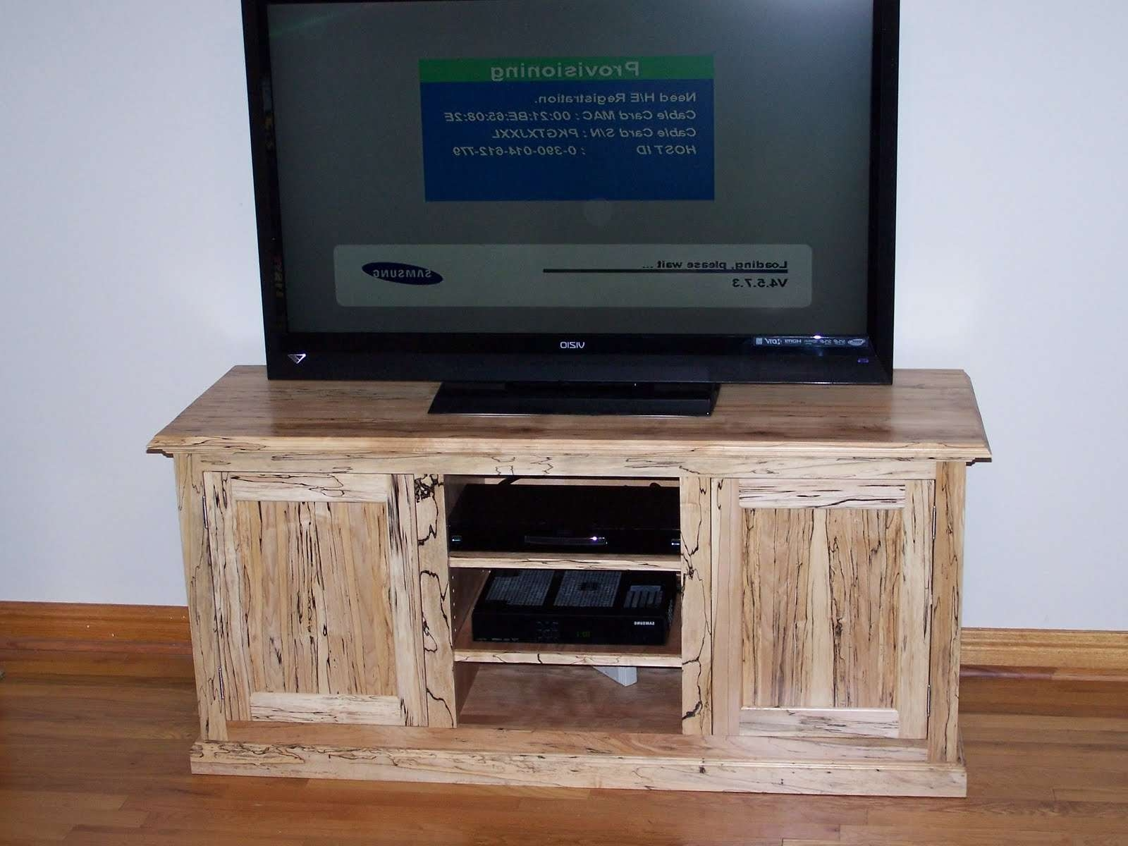 The Cabinet Works: Spalted Maple Tv Stand Inside Maple Tv Stands (View 9 of 20)