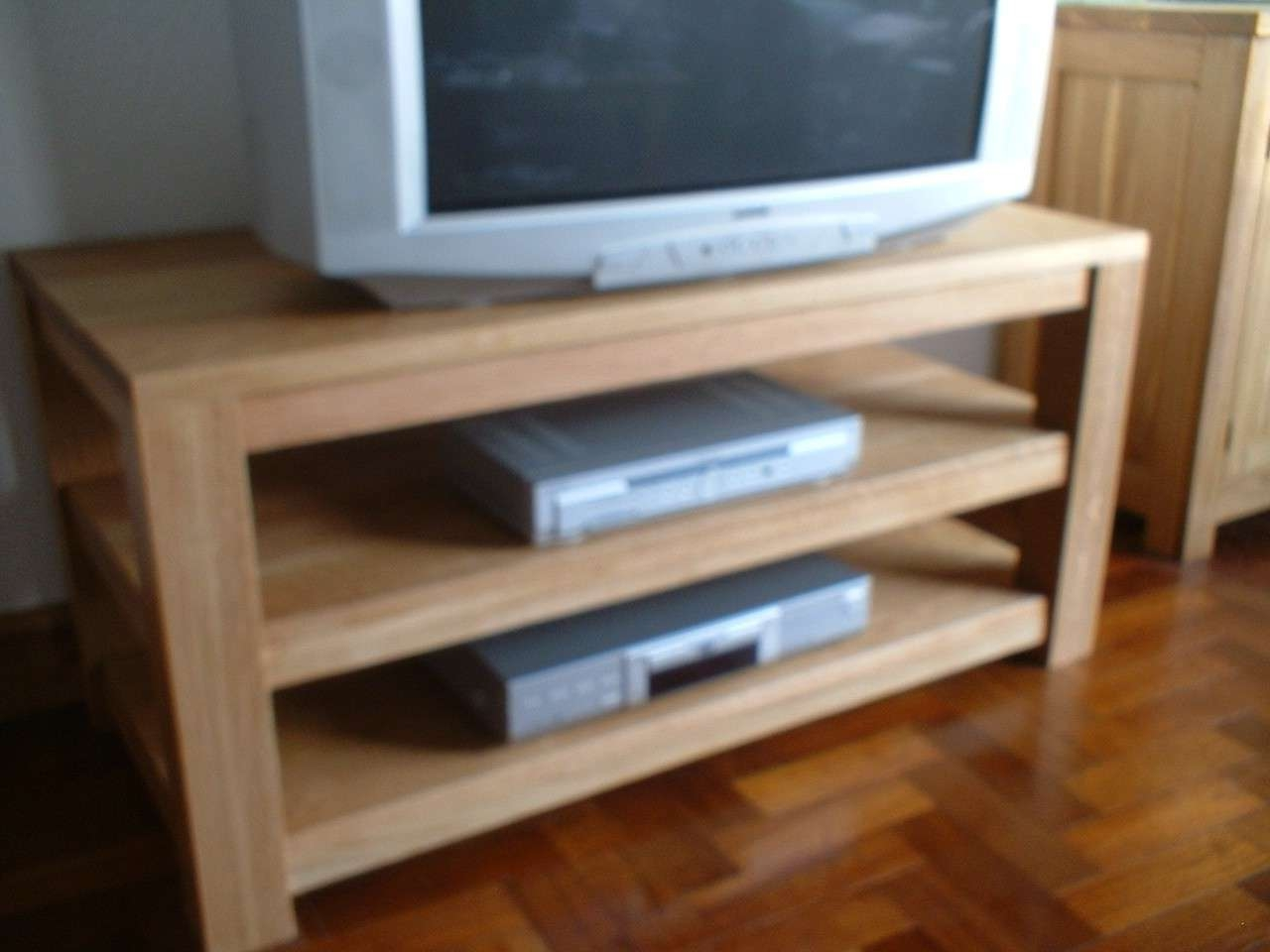 The Oak Shop – Oak Tv / Media Units Stands Within Solid Oak Tv Stands (View 11 of 15)