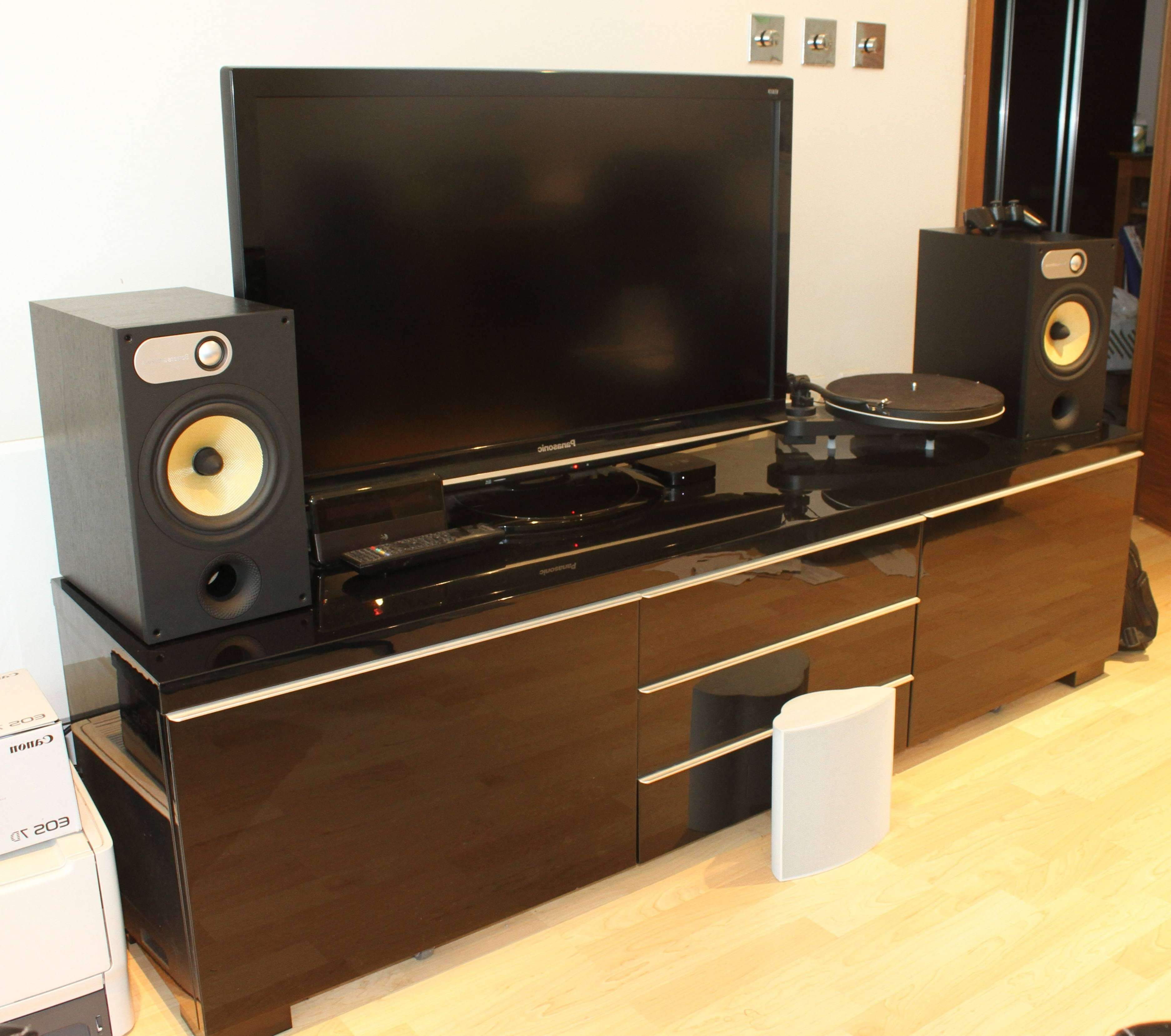 Featured Photo of Turntable Tv Stands