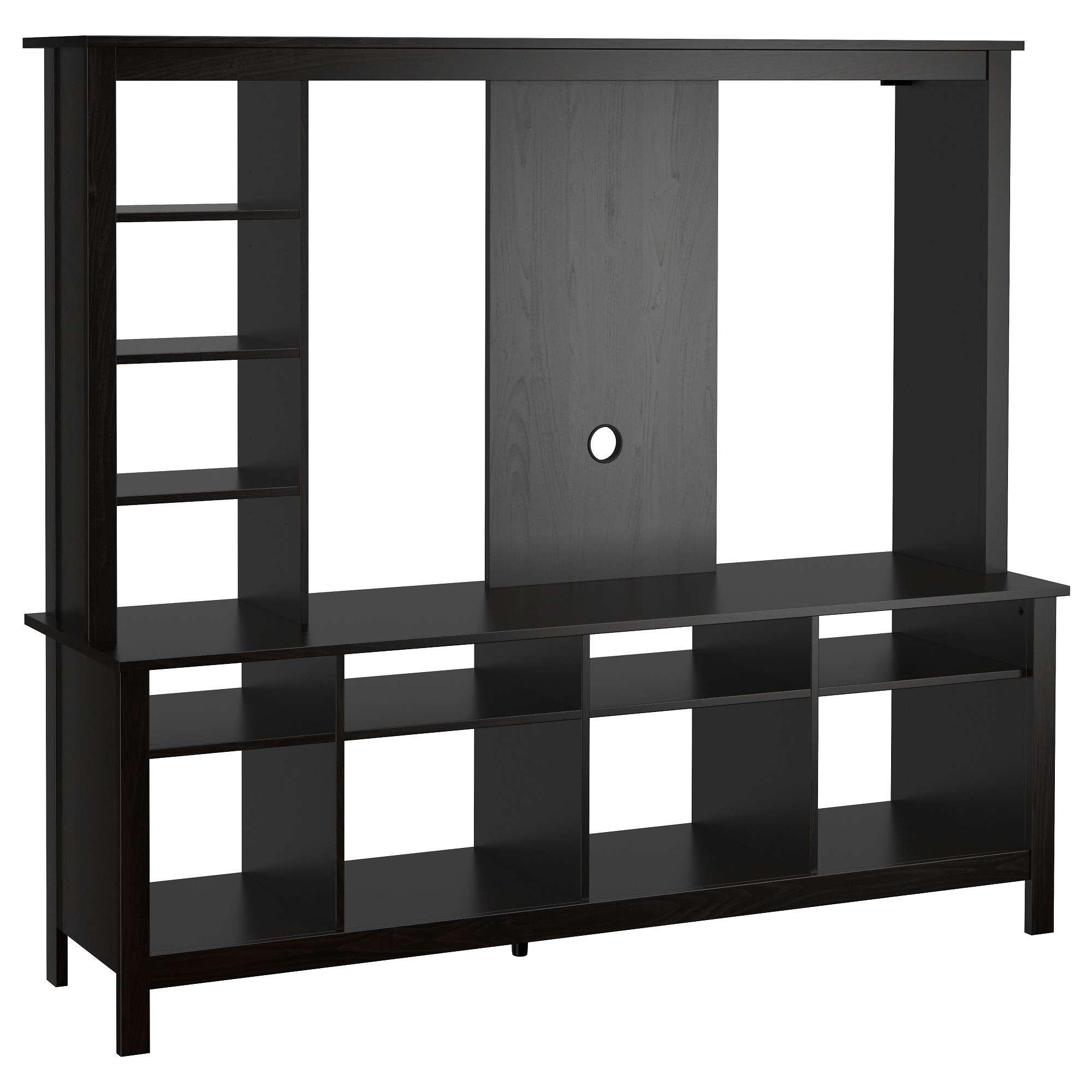Tomnäs Tv Storage Unit – Black Brown – Ikea For Storage Tv Stands (View 7 of 15)