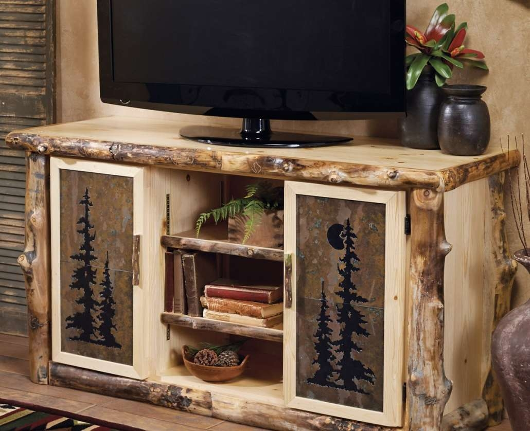 Tv : 35 Supurb Reclaimed Wood Tv Stands Media Consoles Awesome With Rustic Looking Tv Stands (View 10 of 15)