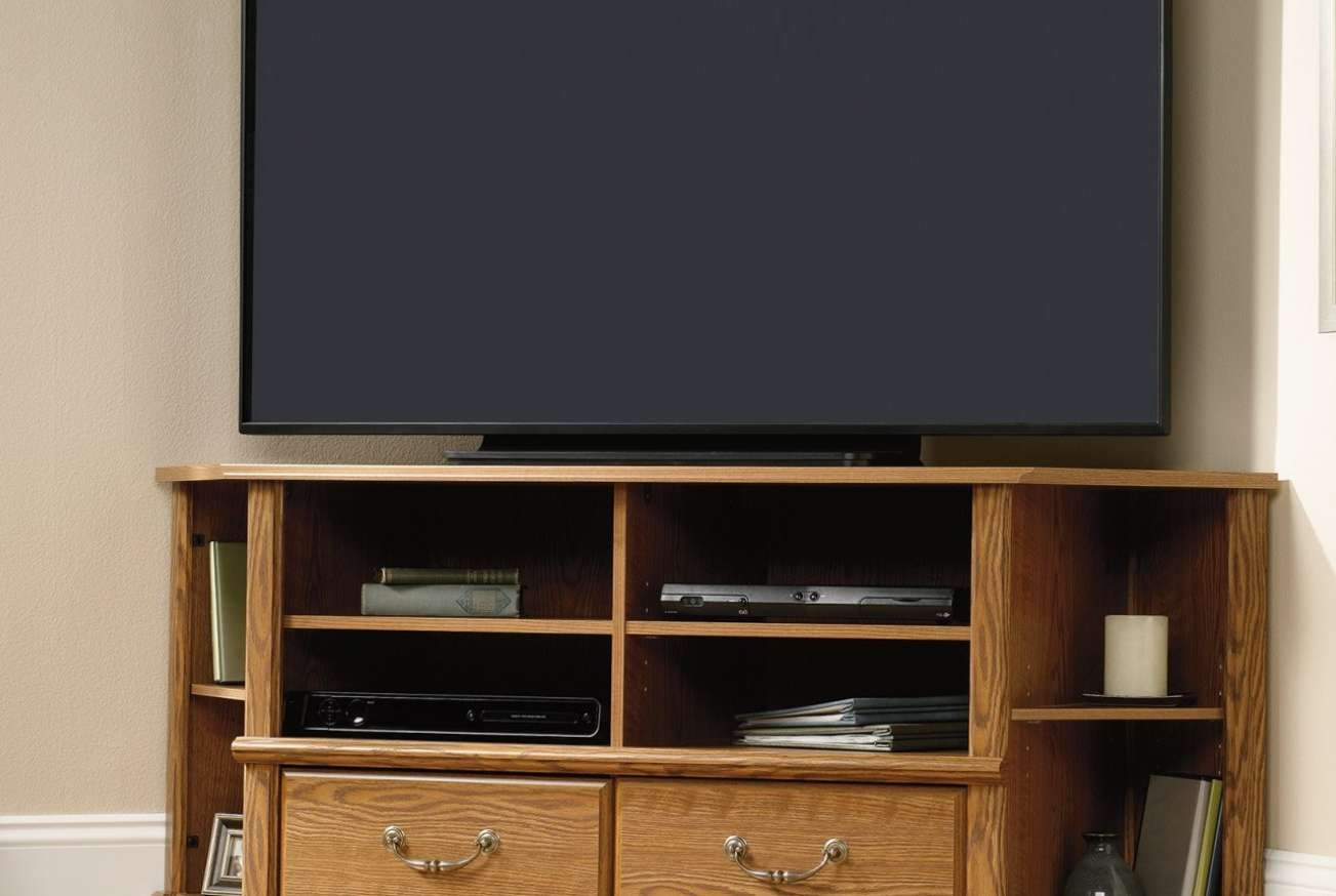 Tv : 50 Amazing Corner Tv Stand For 55 Inch Tv Photos Concept In Harveys Wooden Tv Stands (View 13 of 15)