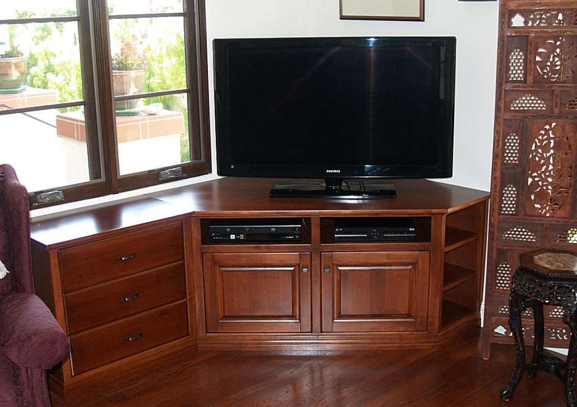 Tv : 50 Amazing Corner Tv Stand For 55 Inch Tv Photos Concept Intended For Harveys Wooden Tv Stands (View 5 of 15)
