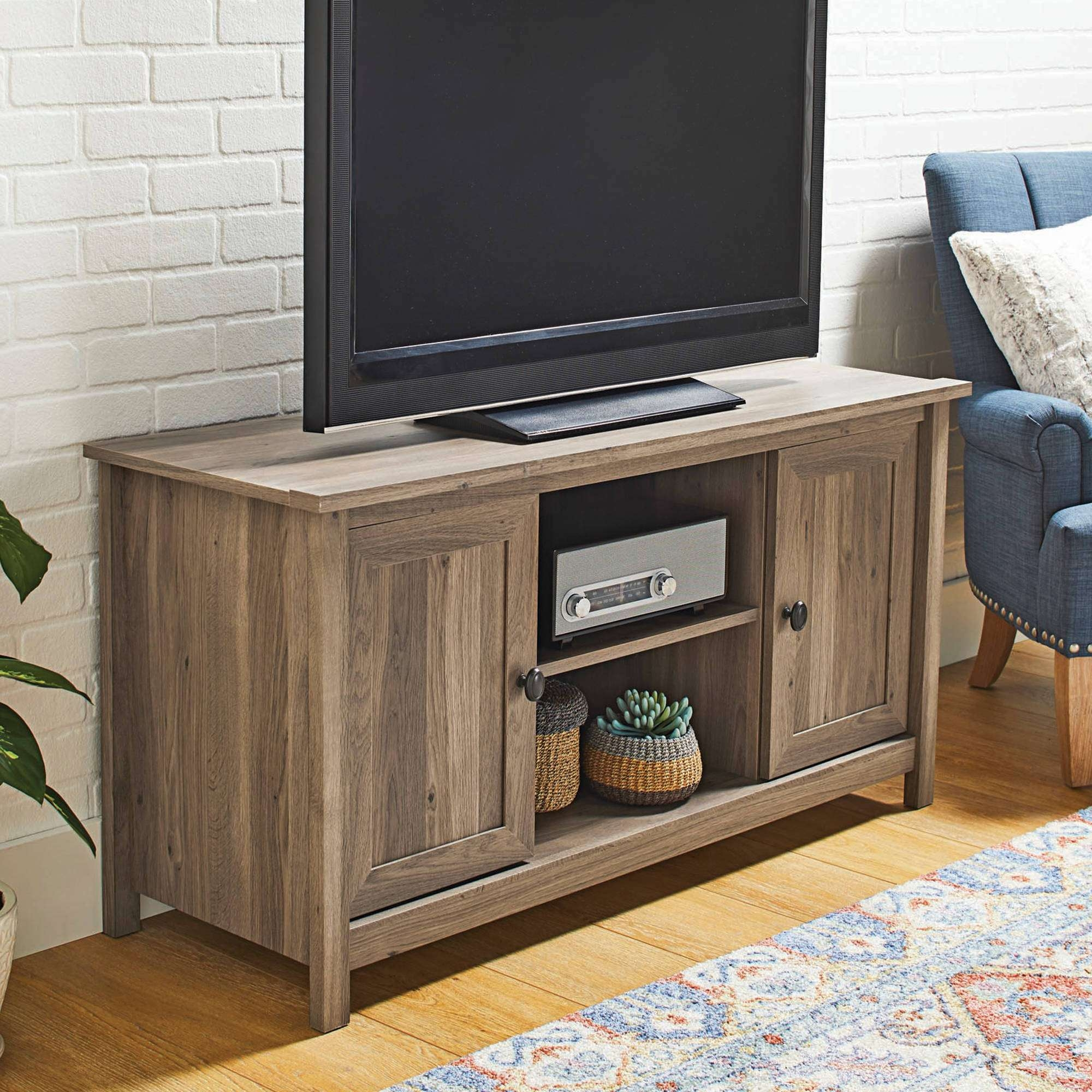 Tv : Amazing Maple Tv Stands Adrian Gray Maple Tv Stand For Tvs Up In Maple Tv Stands (View 17 of 20)