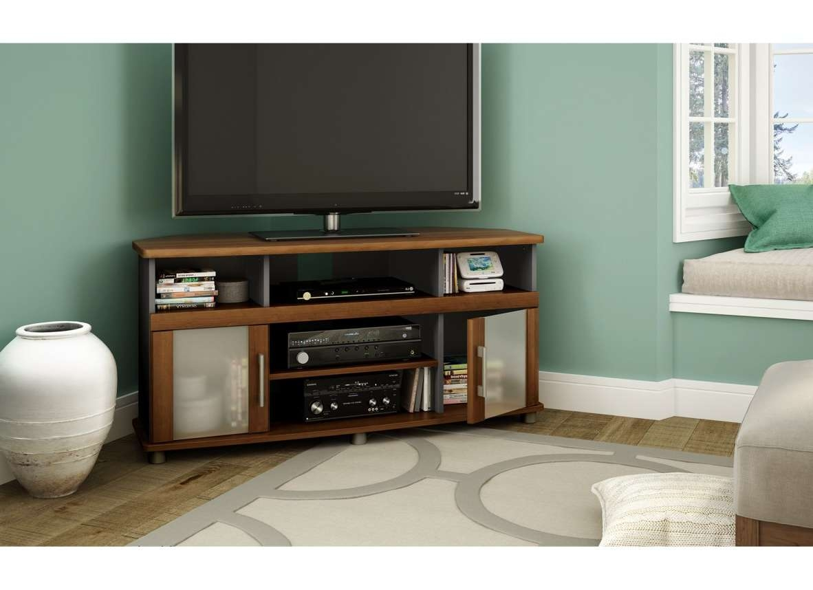 Tv : Astounding Corner Tv Stands For 46 Inch Flat Screen Satiating In Corner Tv Stands 46 Inch Flat Screen (View 9 of 15)