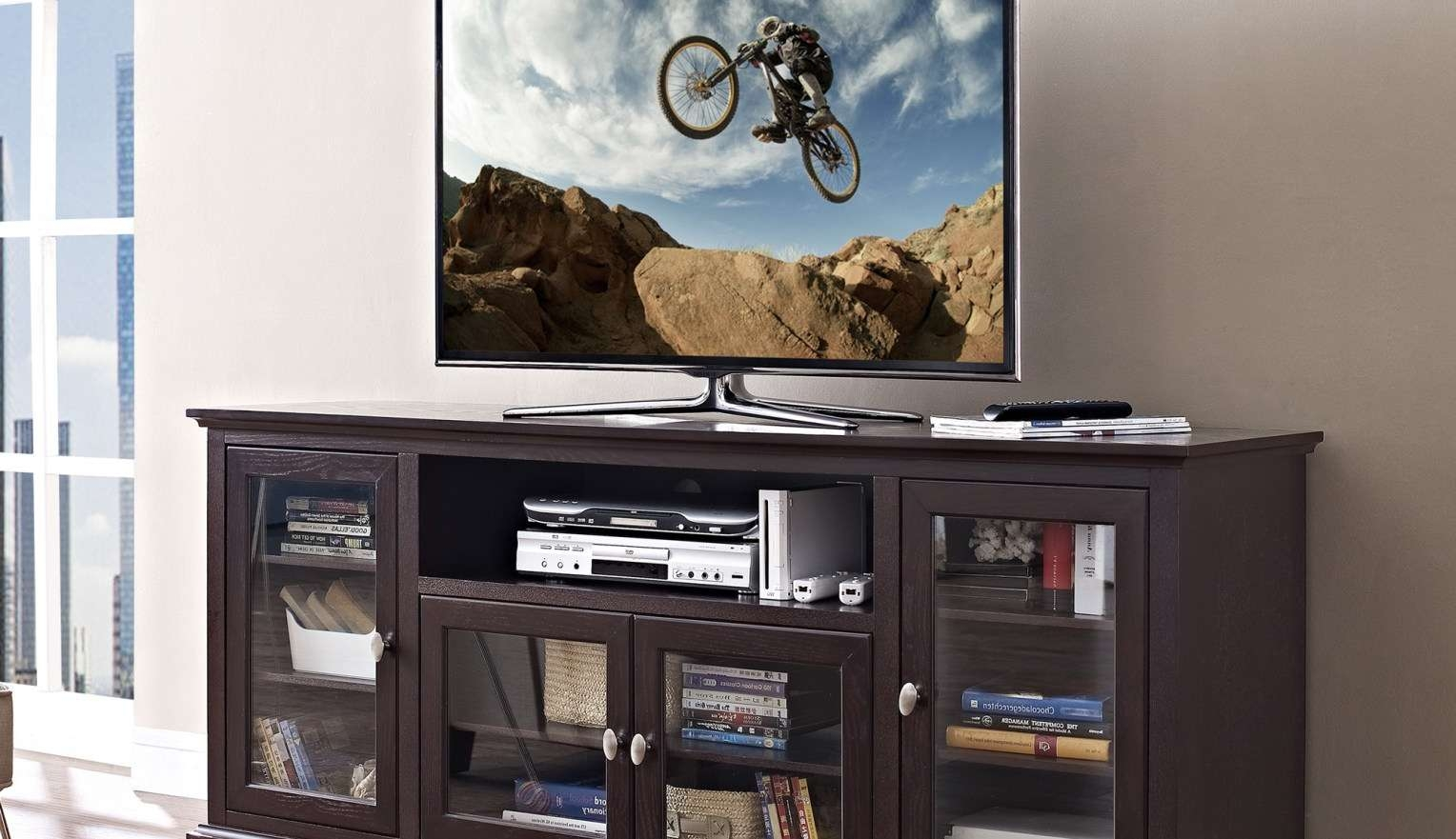 Tv : Astounding Corner Tv Stands For 46 Inch Flat Screen Satiating With Regard To Corner Tv Stands 46 Inch Flat Screen (View 8 of 15)