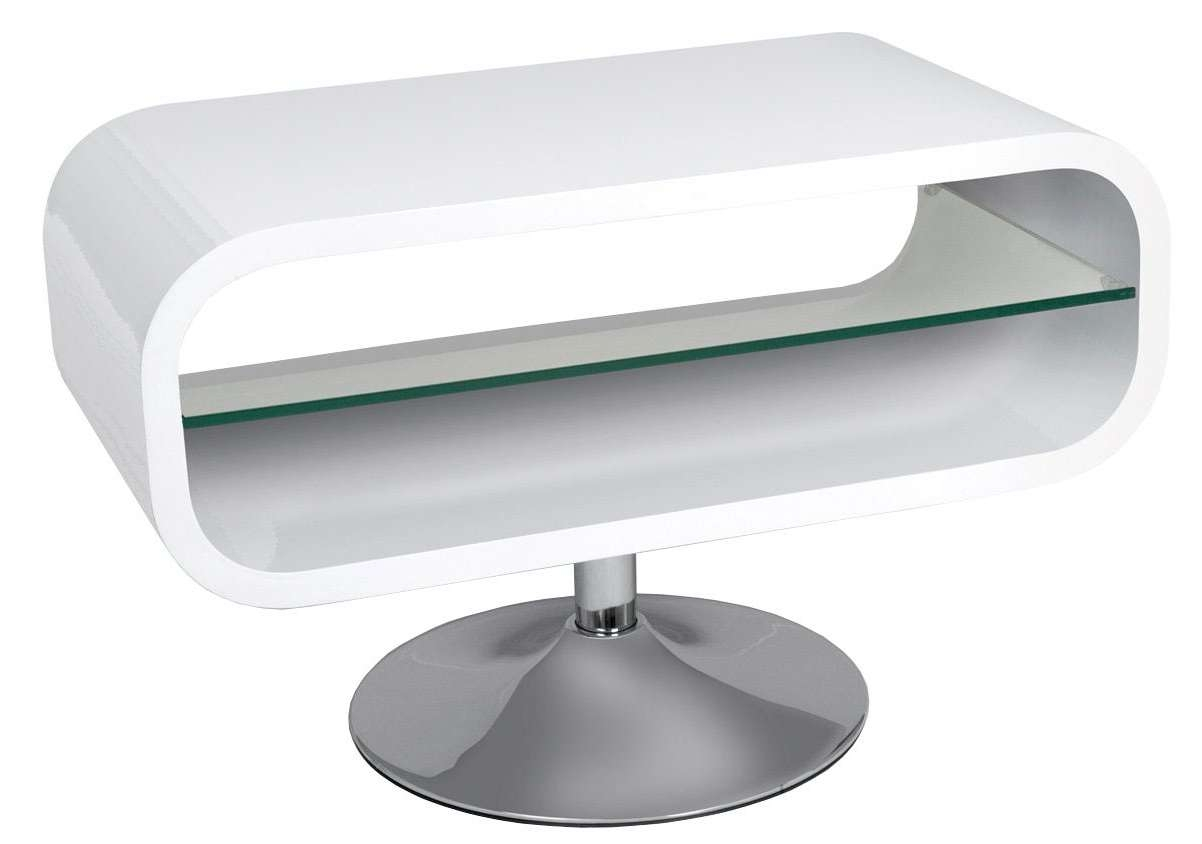 Tv : Awesome Oval White Gloss Tv Stand Trendy Oval White Gloss Tv With Oval Tv Stands (View 9 of 20)