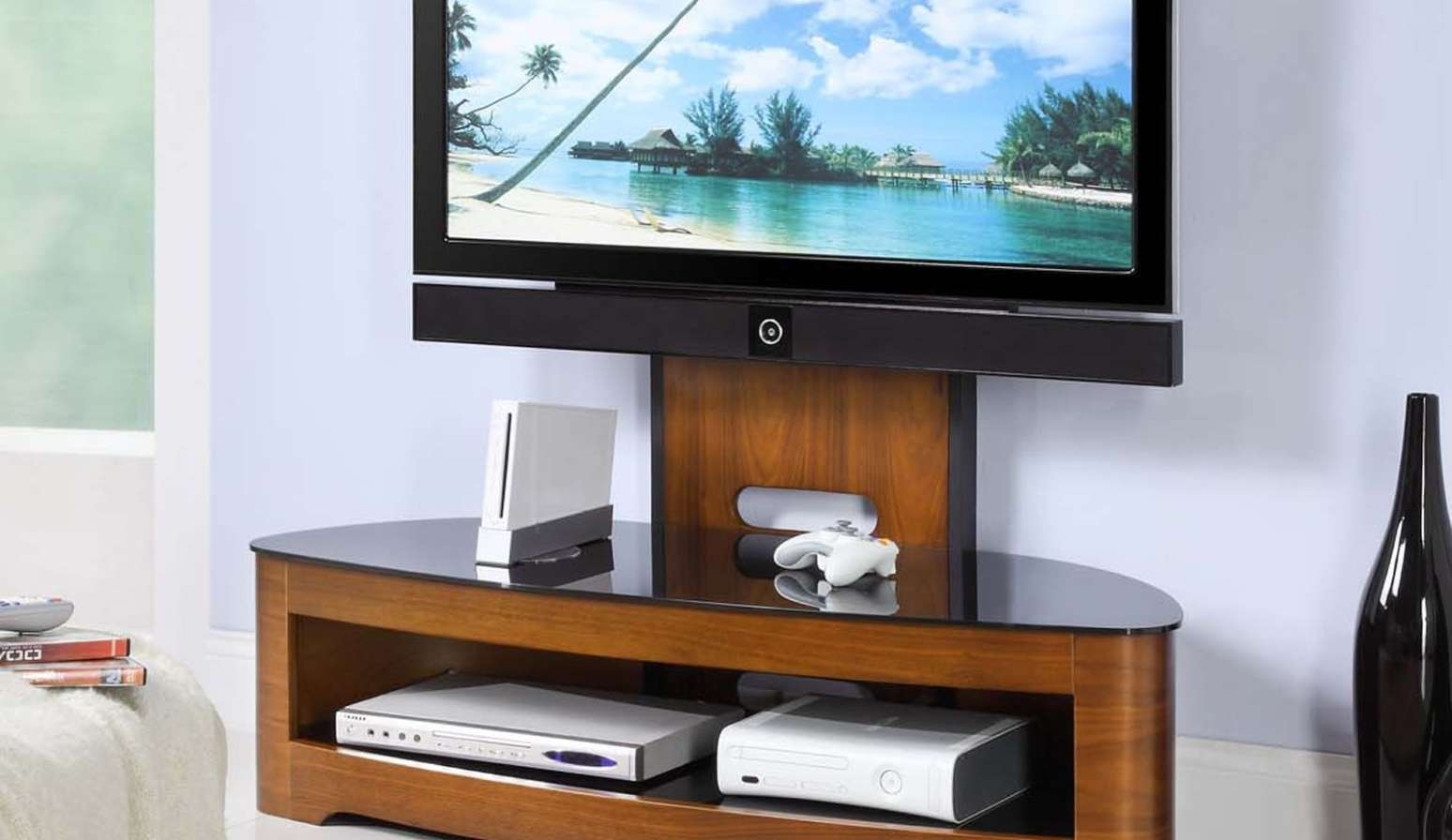 Tv : B Awesome Cheap Cantilever Tv Stands Amazon Com 1Home In Cheap Cantilever Tv Stands (View 2 of 15)