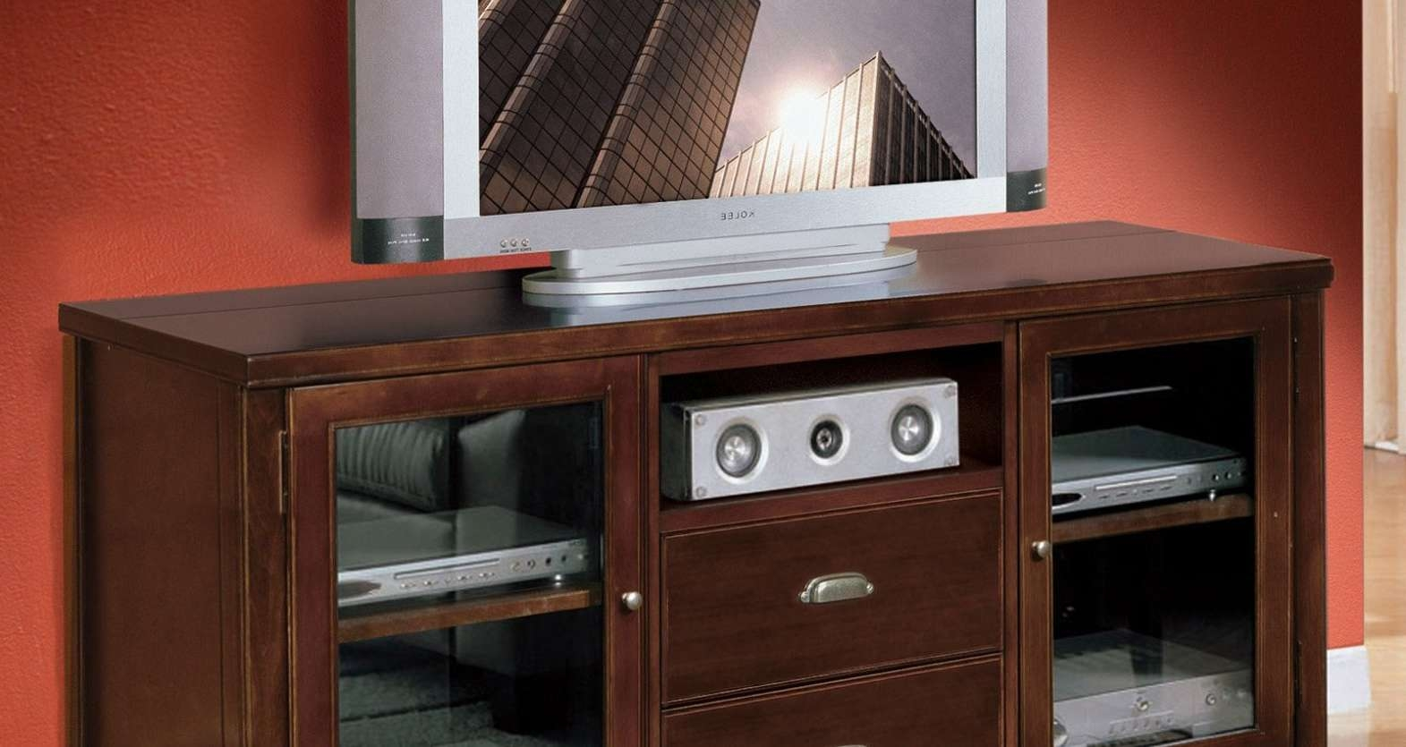 Tv : Bdi Tv Cabinets Stunning Walnut Tv Stands For Flat Screens Inside Walnut Tv Stands For Flat Screens (View 15 of 20)