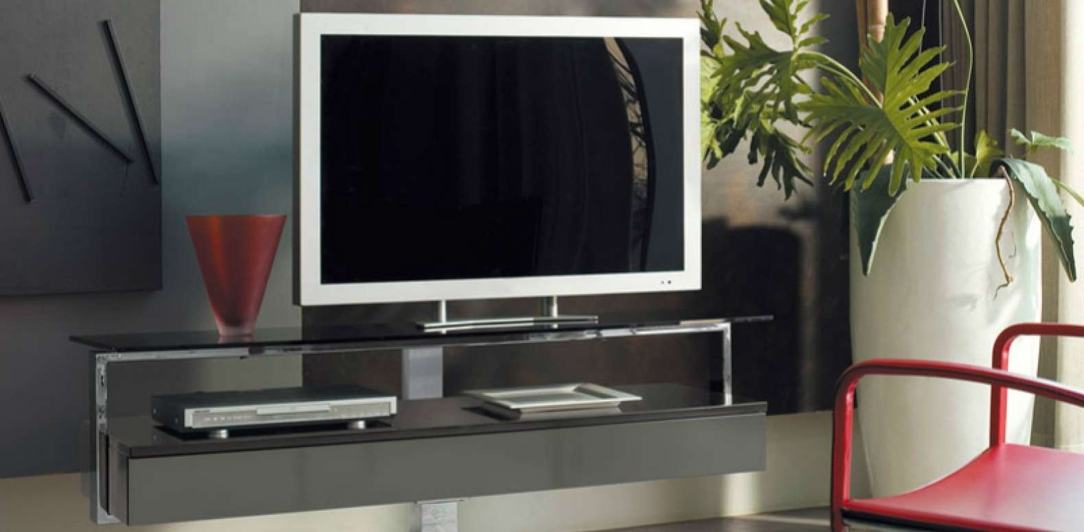 Tv : Beautiful Red Gloss Tv Stands Furniture Elegant Modern With Regard To Red Gloss Tv Stands (View 10 of 15)