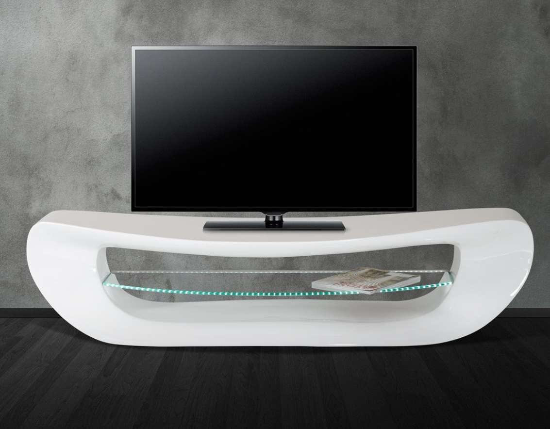 Tv : Beautiful White Gloss Oval Tv Stands Mda Designs High Gloss For White Oval Tv Stands (View 12 of 15)