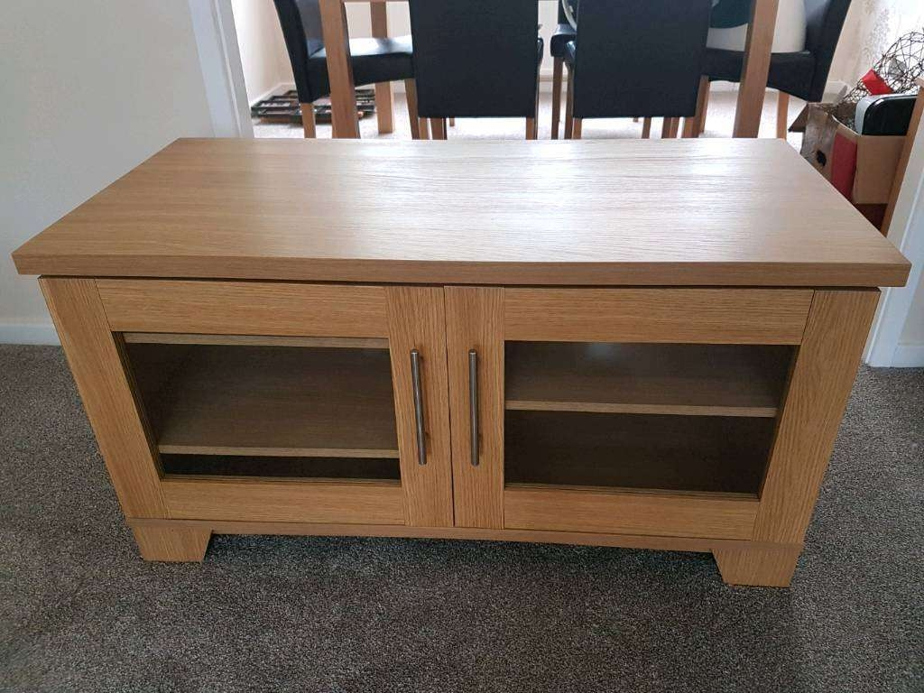 Tv Cabinet / Stand From Harveys | In Middlesbrough, North With Harveys Wooden Tv Stands (View 13 of 15)
