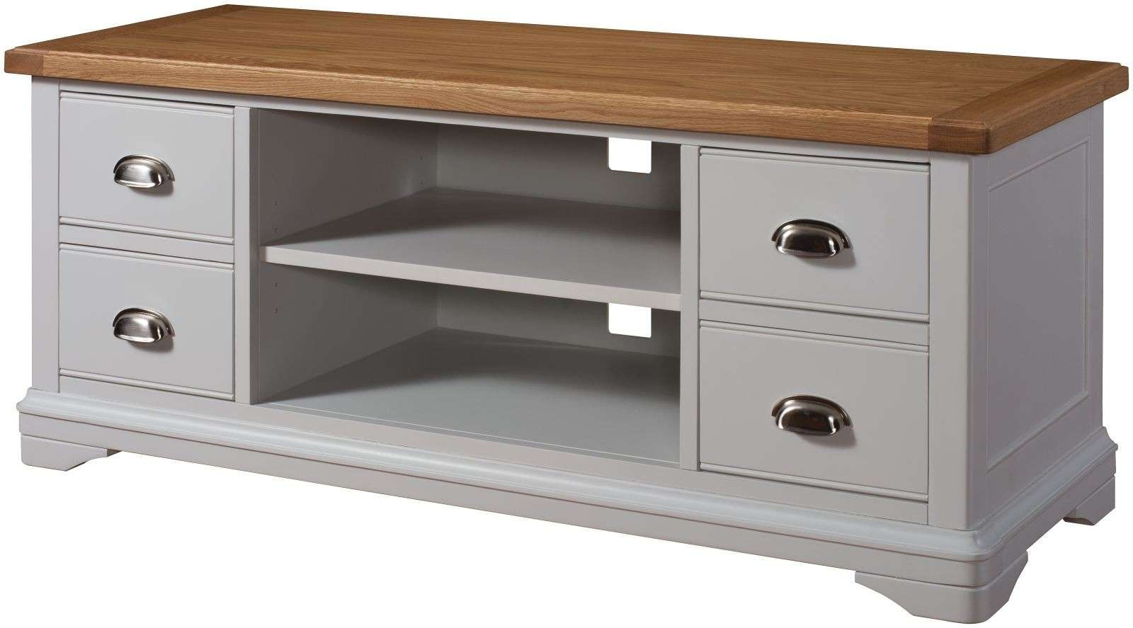 Tv Cabinet With Regard To Long Oak Tv Stands (View 14 of 20)