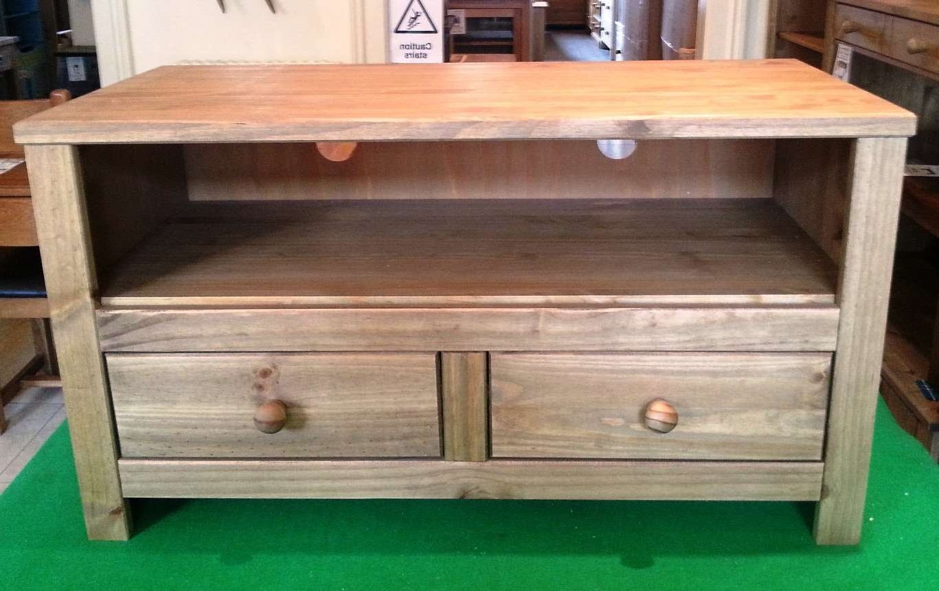 Tv Cabinets Edinburgh – Solid Pine Flat Pack Furniture Assembly Regarding Pine Tv Stands (View 8 of 20)