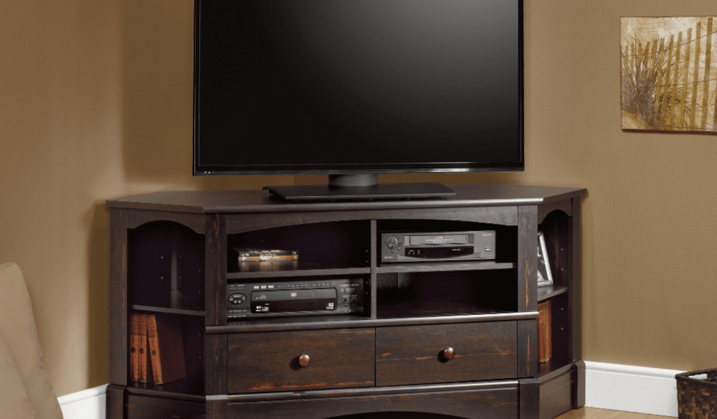 Tv : Corner Tv Stand For 60 Inch Flat Screen Tv Amazing Tv Stands Pertaining To Tv Stands With Rounded Corners (View 3 of 15)