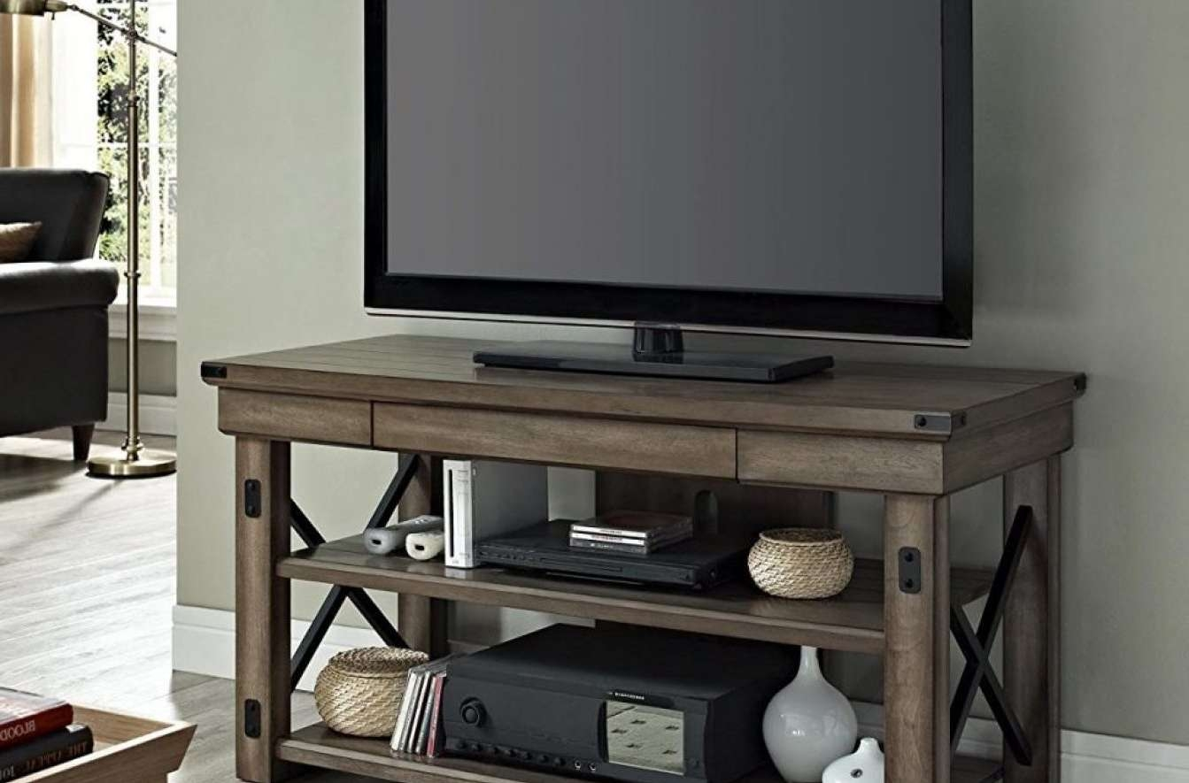 Tv : Diy Mid Century Modern Tv Stand Ideas Beautiful Rustic Red Tv Throughout Rustic Red Tv Stands (View 18 of 20)