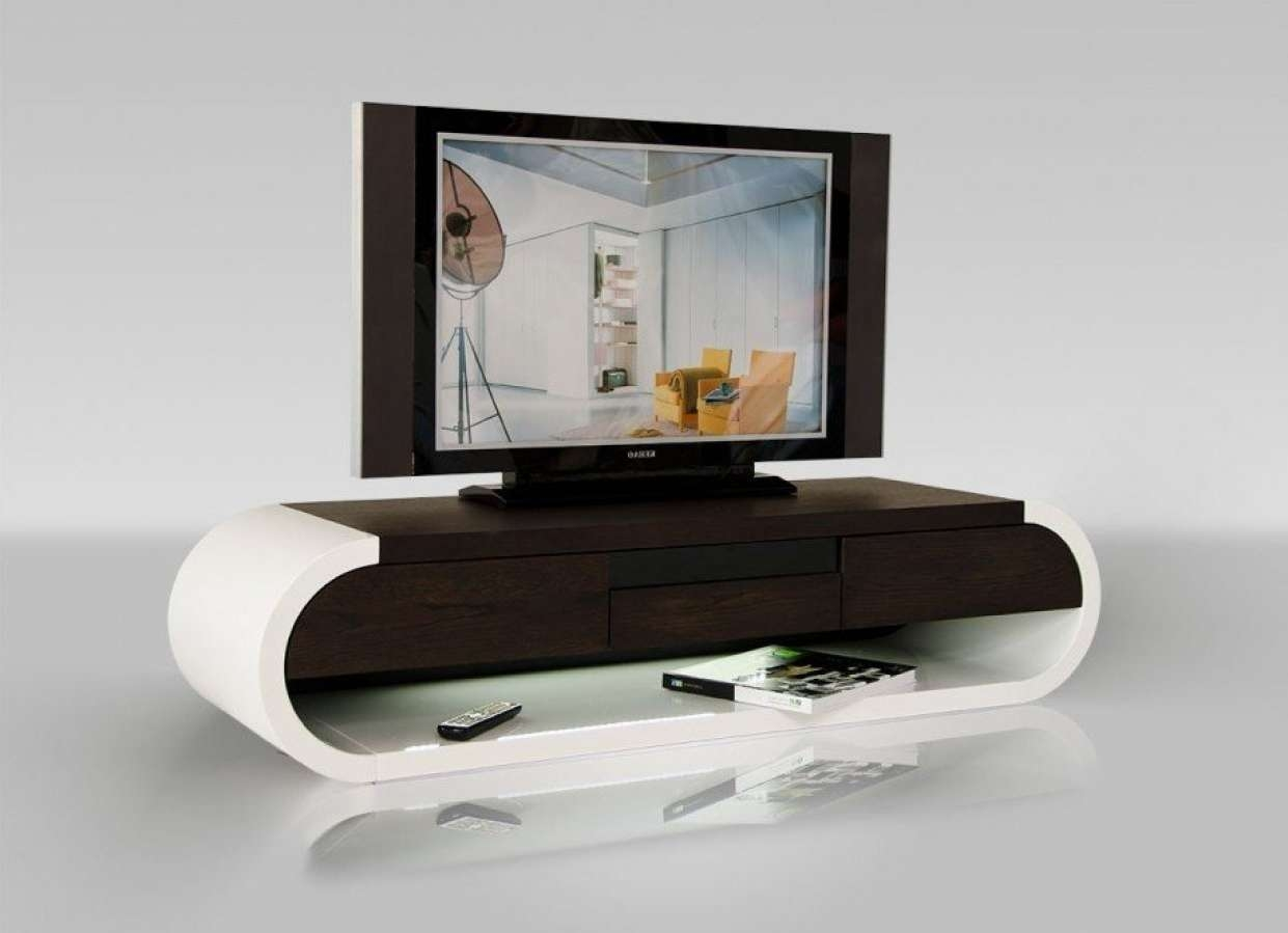 Tv : Enjoy Tv Shows Movies Adopting 12 Small White Tv Stand Ideas Within Tv Stands With Rounded Corners (View 6 of 15)
