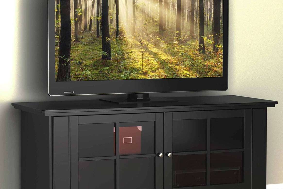 Tv : Fabulous Large Oak Corner Tv Stand Delicate Large Oak Corner With Oak Effect Corner Tv Stands (View 7 of 15)