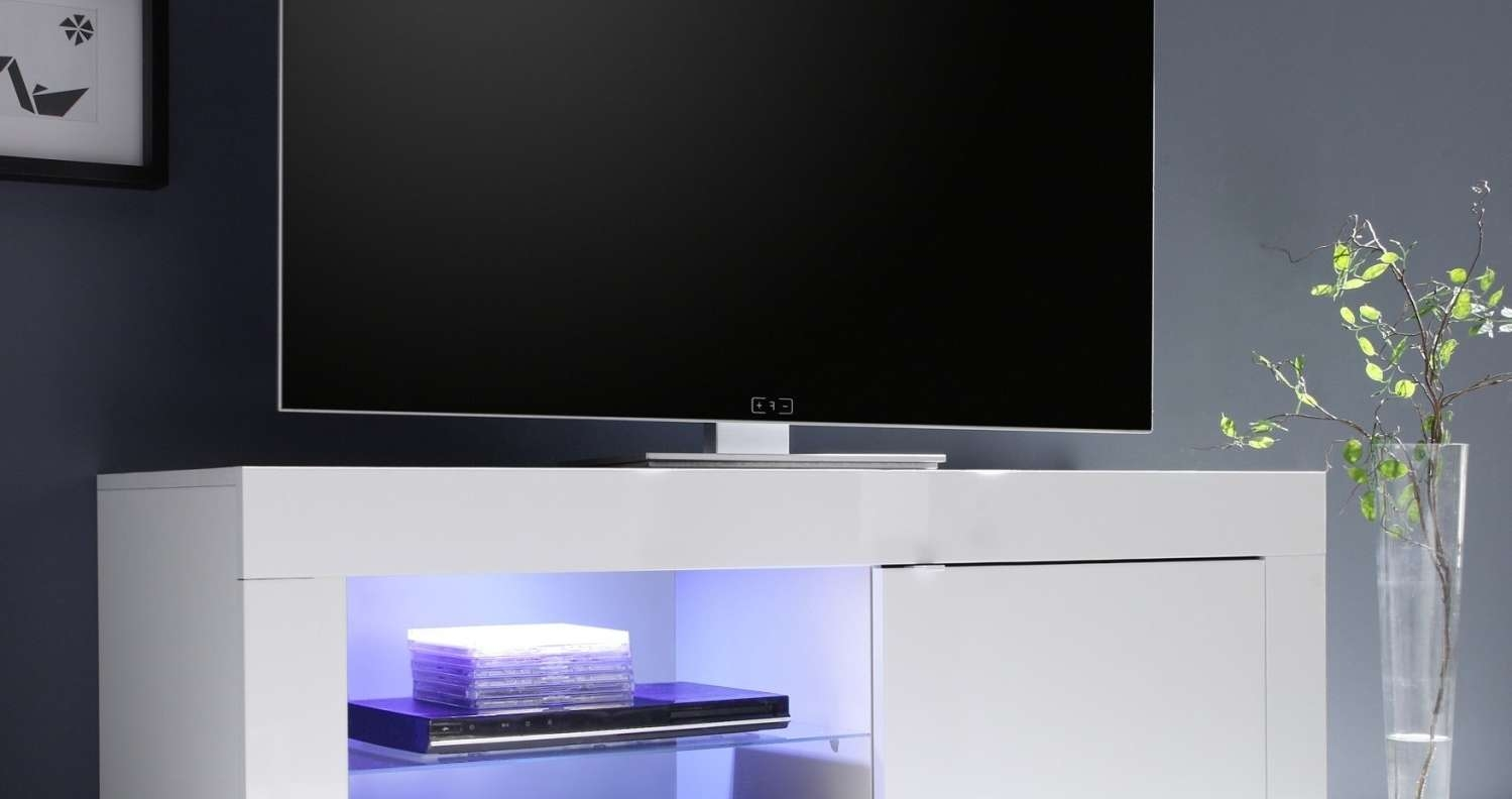 Tv : Favored Brown Gloss Tv Stands Entertain Modern White Gloss Tv Throughout White Gloss Corner Tv Stands (View 8 of 15)