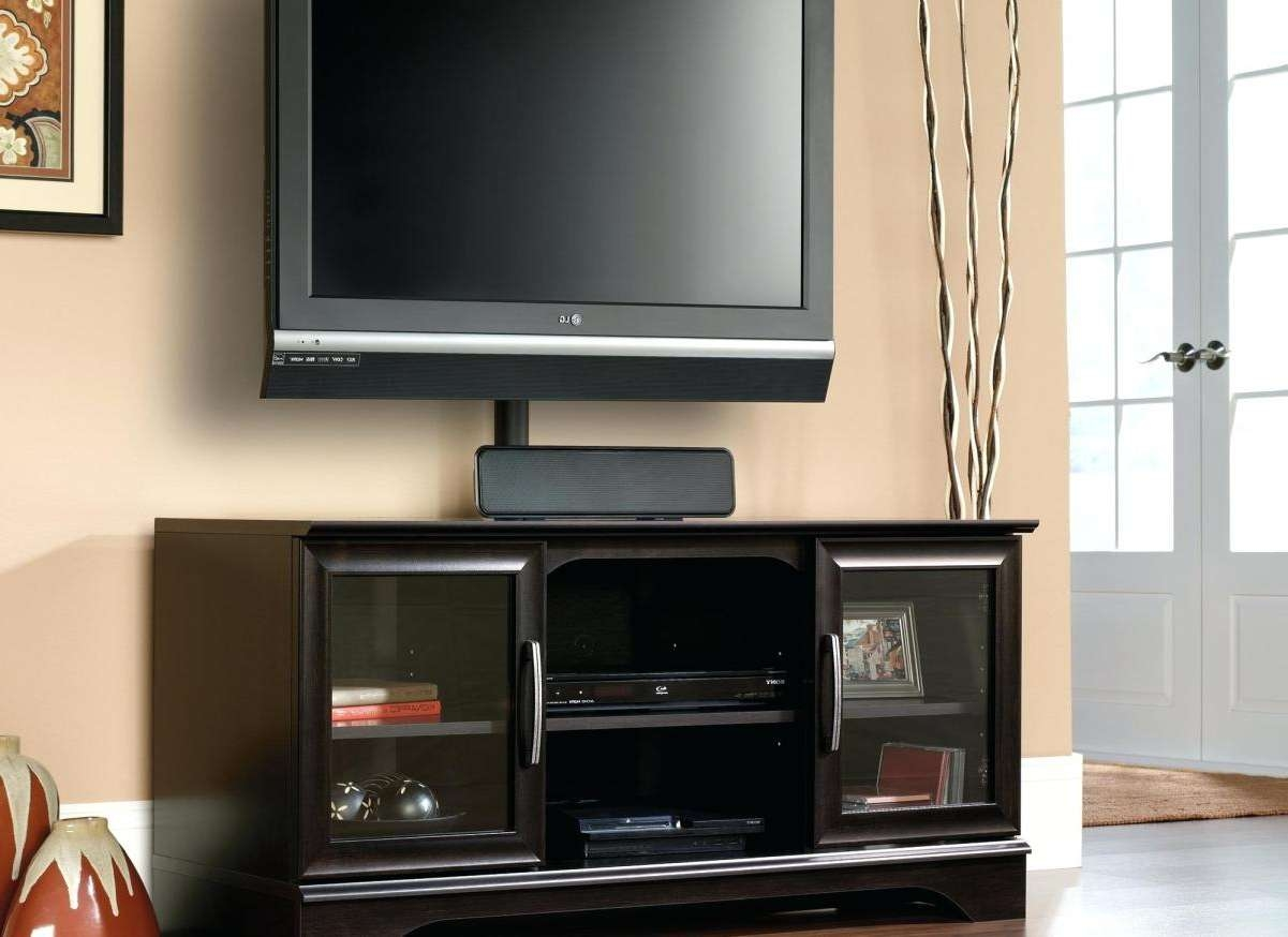 Tv : Flat Screen Tv Stand With Mount Design Ideas Awesome Swivel Regarding Swivel Black Glass Tv Stands (View 10 of 15)