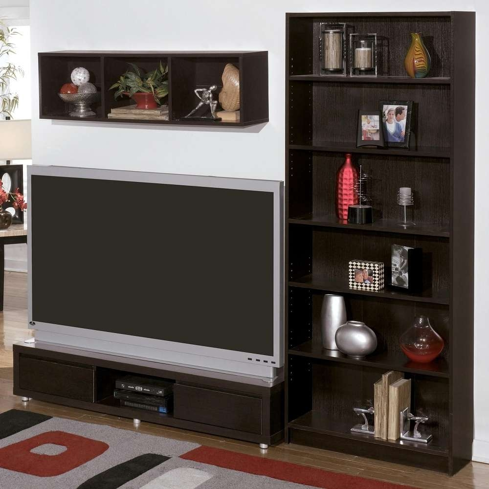 Tv : Floating Tv Stand Beautiful Tv Stands With Bookcases Best 25 Pertaining To Tv Stands With Matching Bookcases (View 7 of 15)