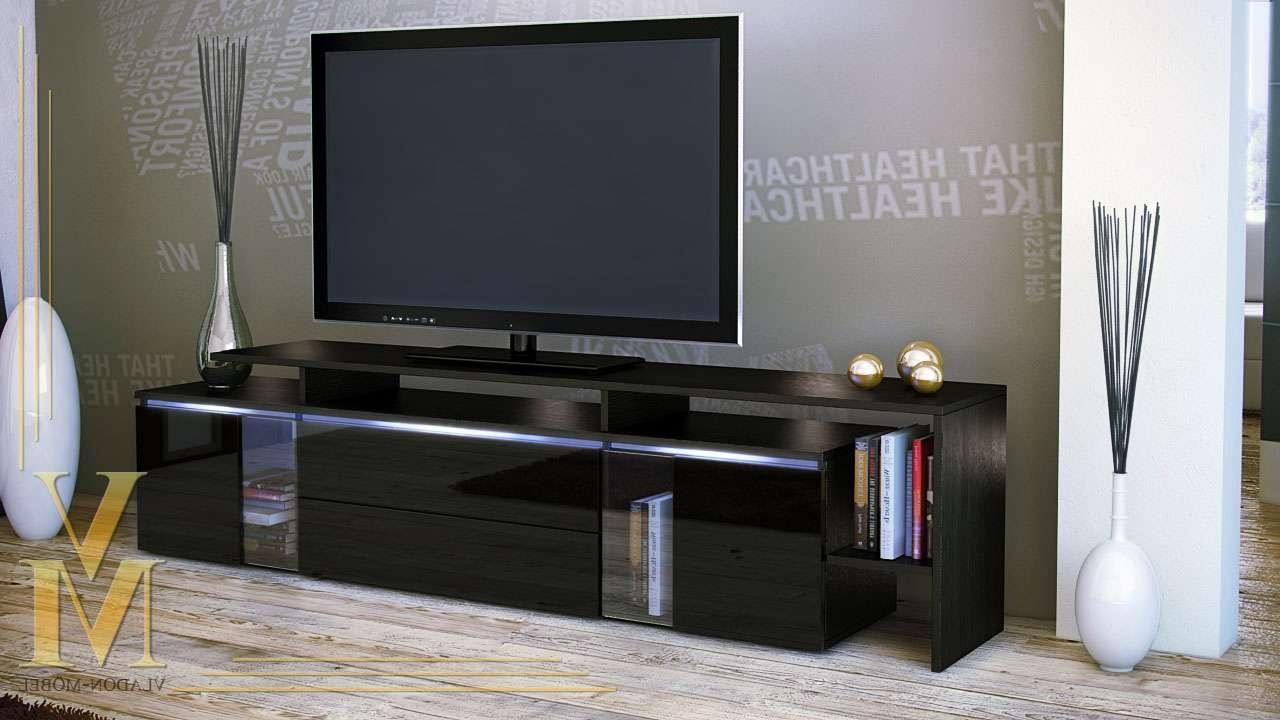 Tv : High Gloss Black Tv Cabinet Amazing High Gloss Tv Cabinets Regarding Black Gloss Tv Stands (View 14 of 15)