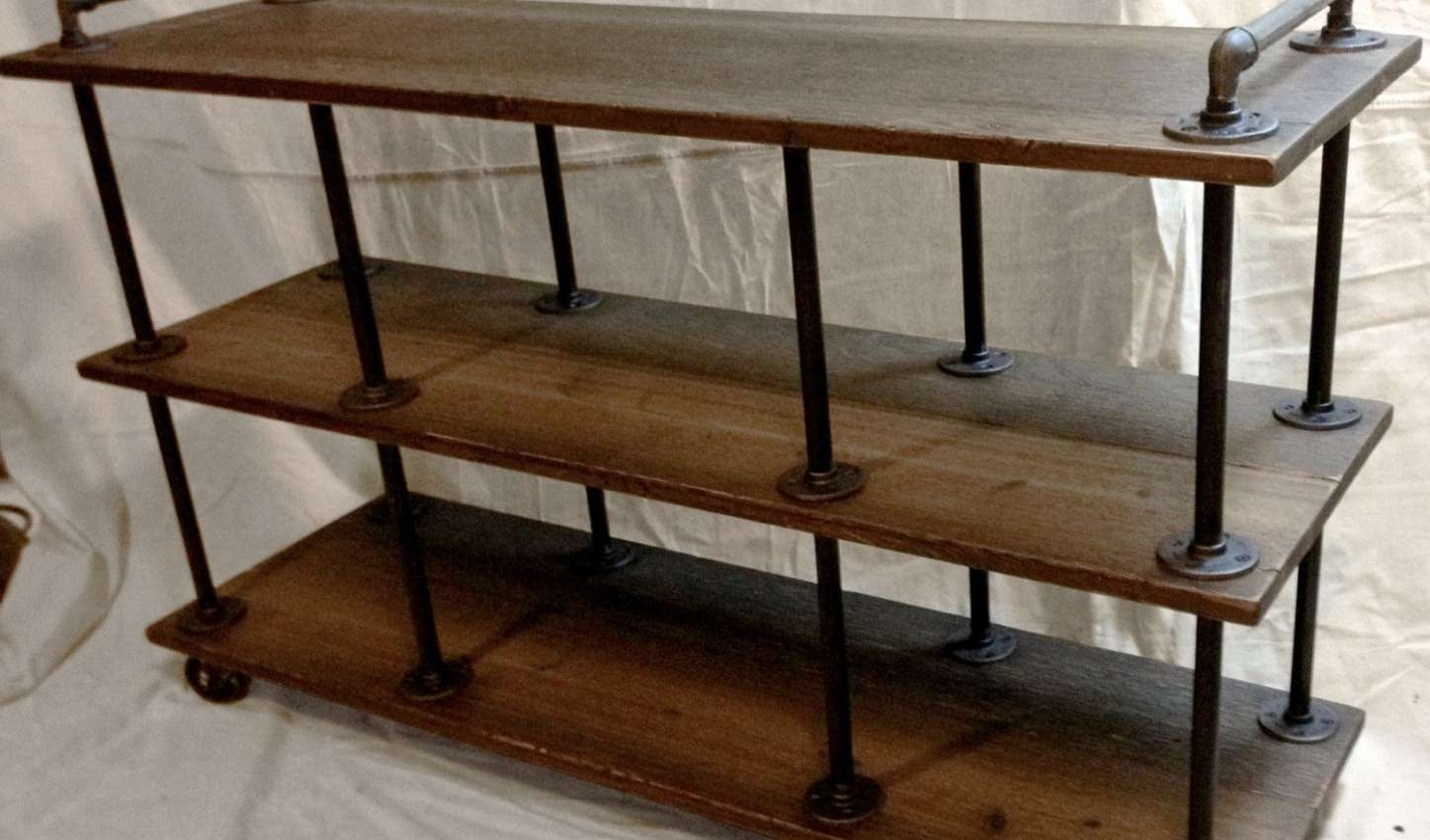 Tv : Id F Beautiful Vintage Industrial Tv Stands Tv Stand Vintage Throughout Cast Iron Tv Stands (View 13 of 15)