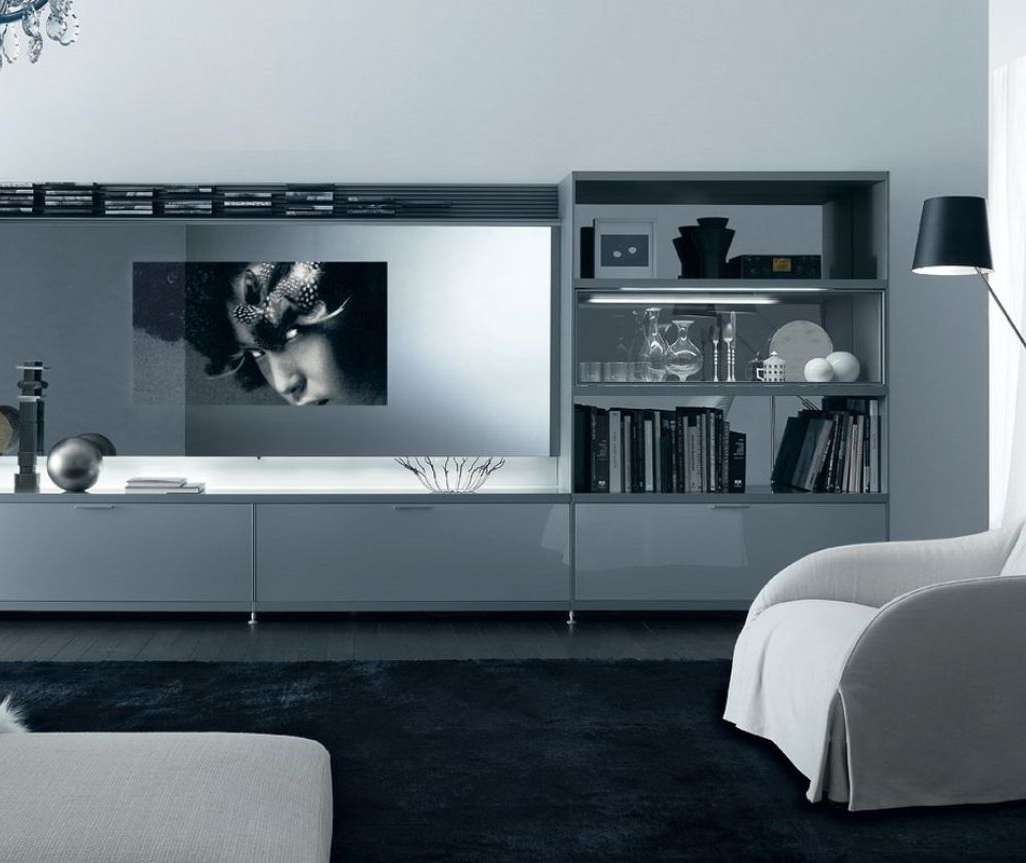Tv : Incredible Of Living Room Stands Designs Beautiful Tv Stands With Tv Stands With Matching Bookcases (View 11 of 15)