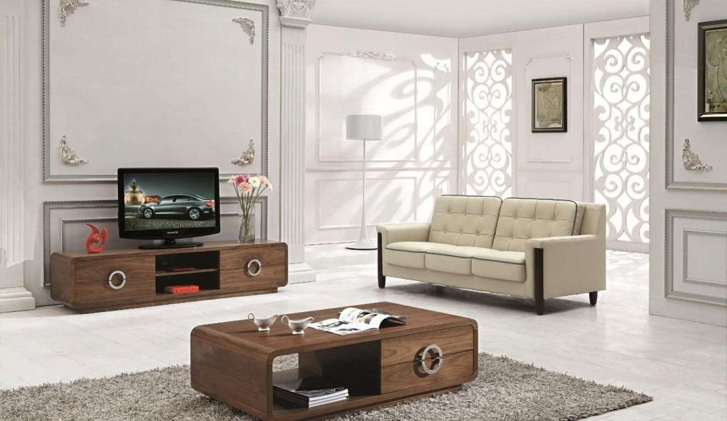 Tv : Matching White Coffee Table And Tv Stand | Coffee Tables With Regard To Coffee Tables And Tv Stands Matching (View 19 of 20)