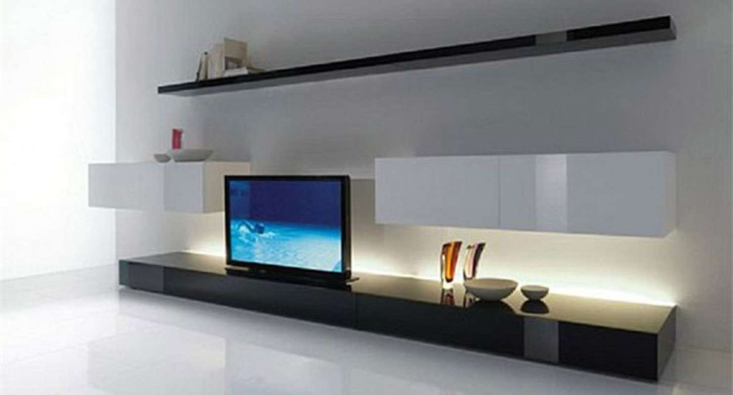Tv : Modern Low Profile Tv Stands Hypnotizing Modern Low Profile In Low Profile Contemporary Tv Stands (View 11 of 15)