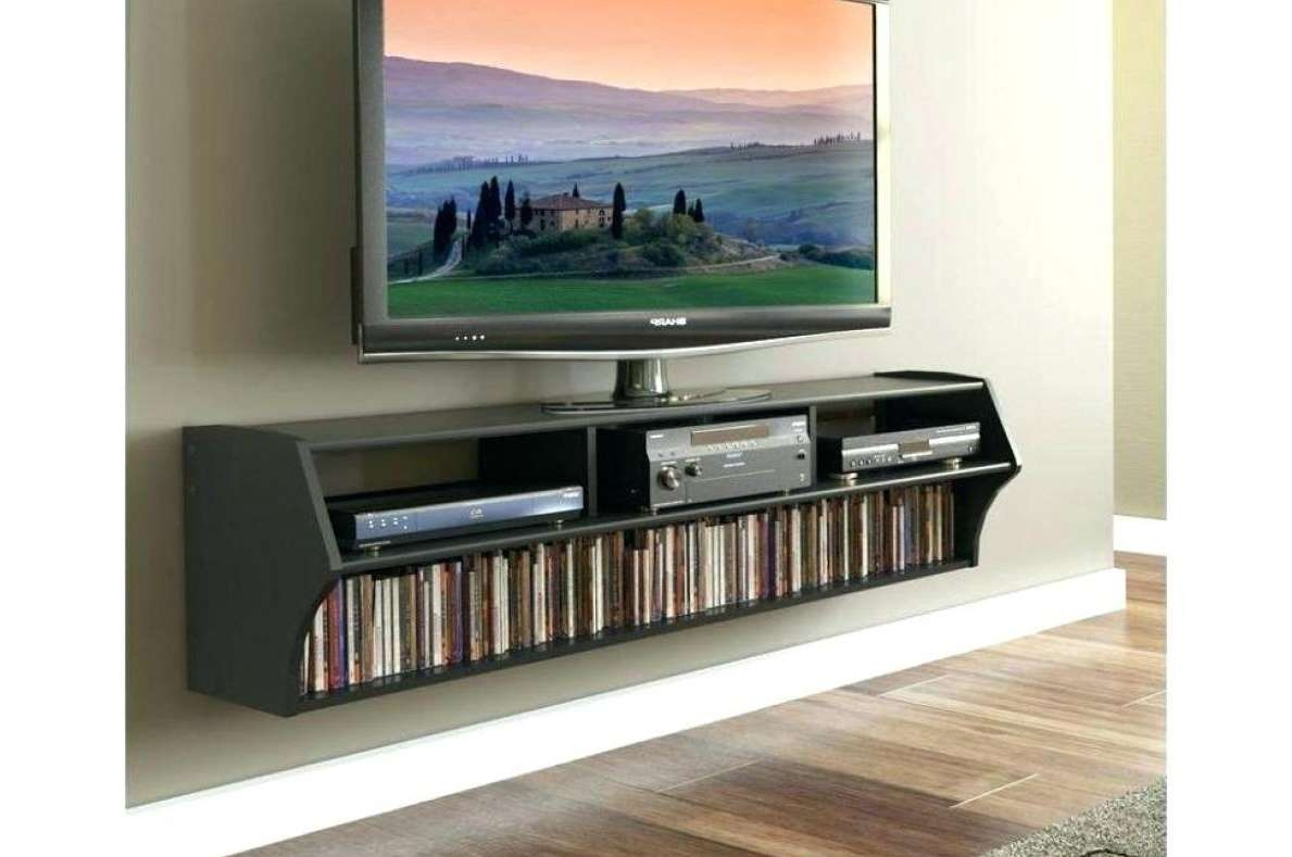Tv : Modern Short Black Metal And Glass Cantilever Tv Stand With Pertaining To Cheap Cantilever Tv Stands (View 8 of 15)