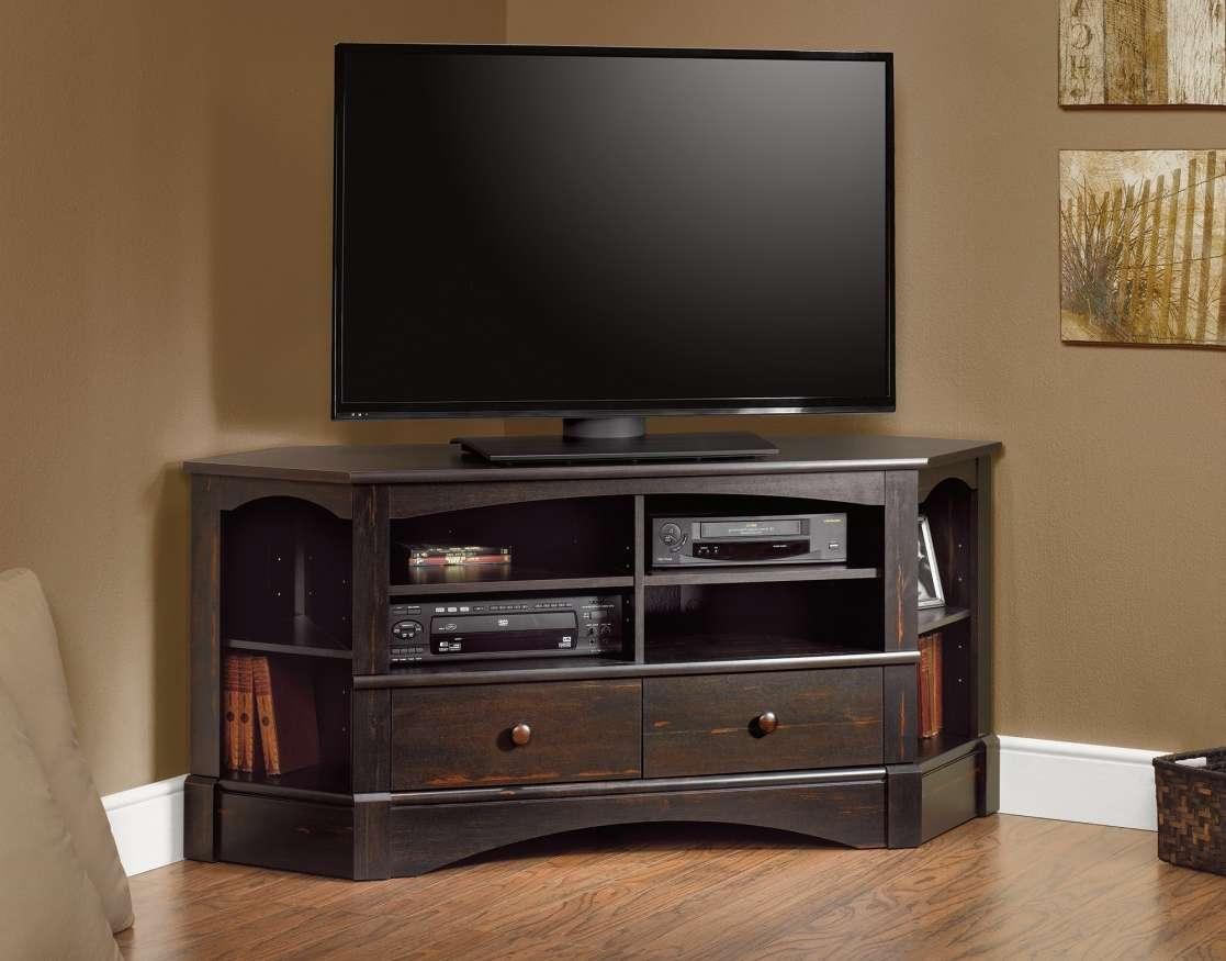 Tv : Oak Corner Tvs And Cabinets For Flat Screens At Walmart Wood Regarding Oak Corner Tv Stands For Flat Screens (View 12 of 15)