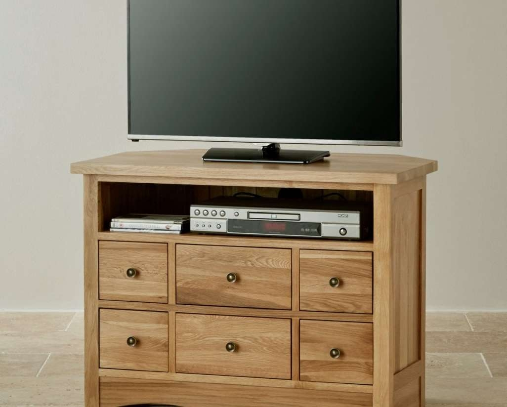 Tv : Oak Effect Corner Tv Stands Trendy Madison Oak Effect Corner For Oak Effect Corner Tv Stands (View 8 of 15)