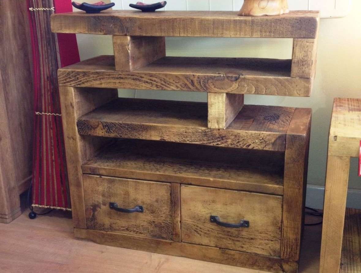 Tv : Satisfying Rustic Looking Tv Stands Notable Rustic Looking Tv In Rustic Looking Tv Stands (View 6 of 20)