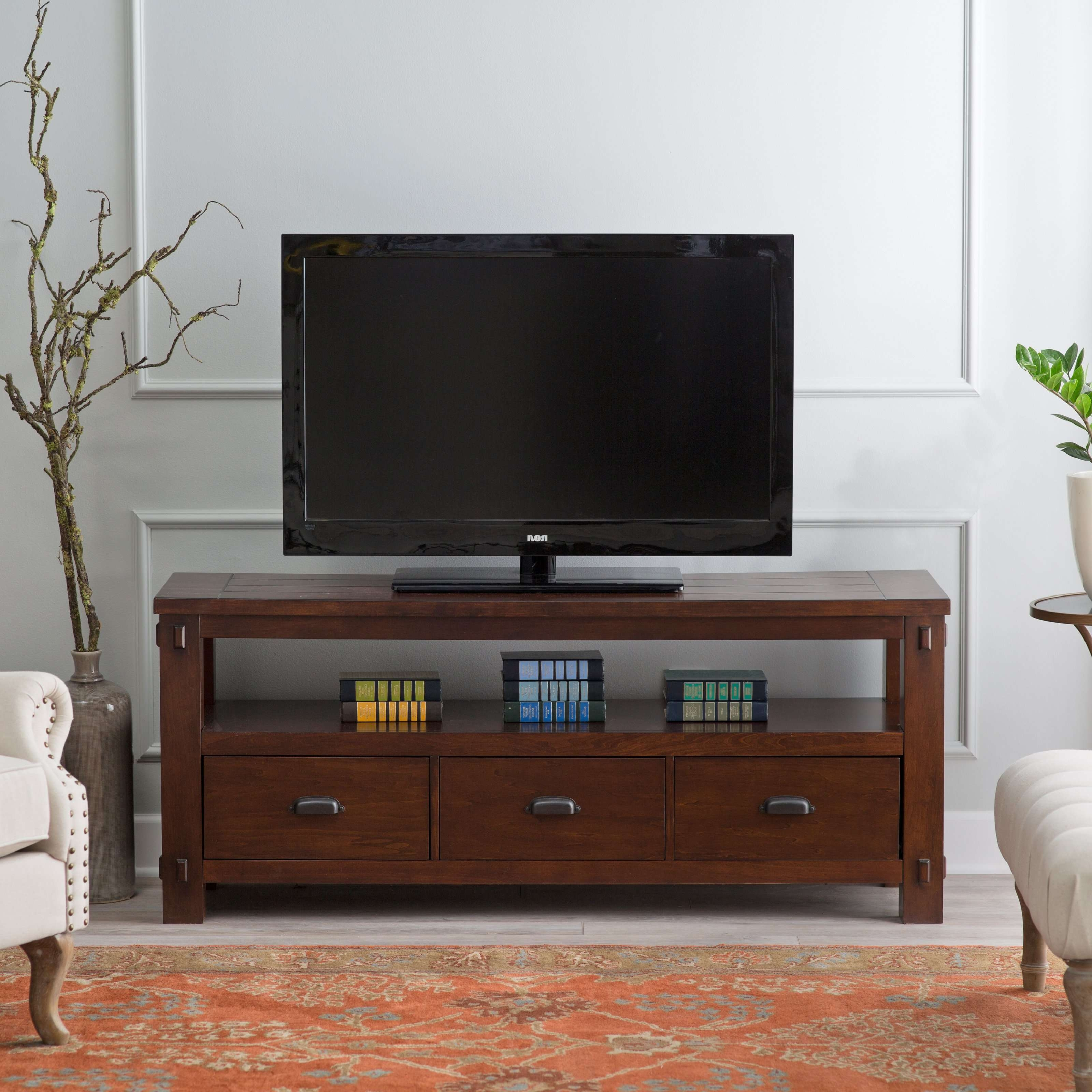 Tv Stand : 42 Stupendous Thin Tall Tv Stand Picture Concept Thin Intended For Compact Corner Tv Stands (View 13 of 15)