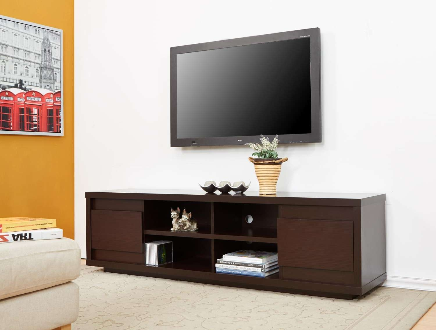 Tv Stand : 49 Impressive Tv Stand With Storage Drawers Photos With Storage Tv Stands (View 11 of 15)