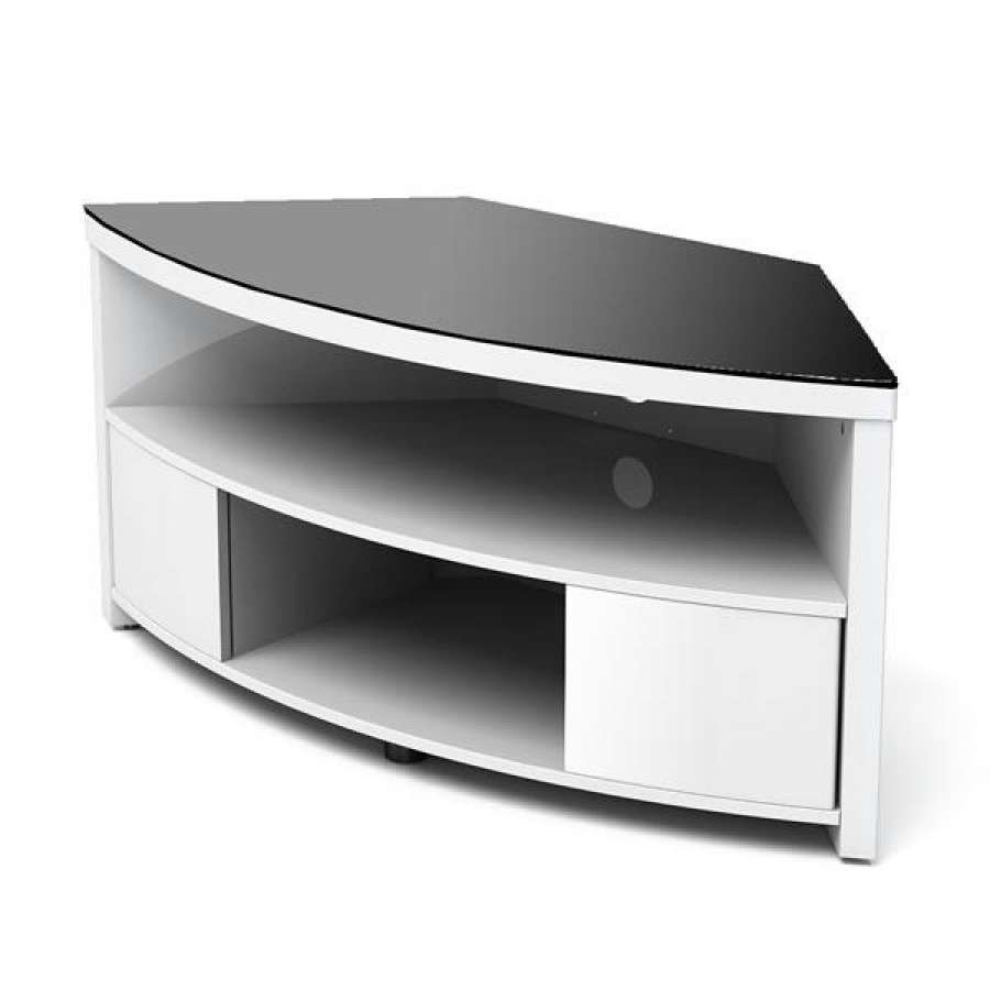 Tv Stand : 49 Stupendous Small White Corner Tv Stand Images Throughout Small White Tv Stands (View 10 of 15)