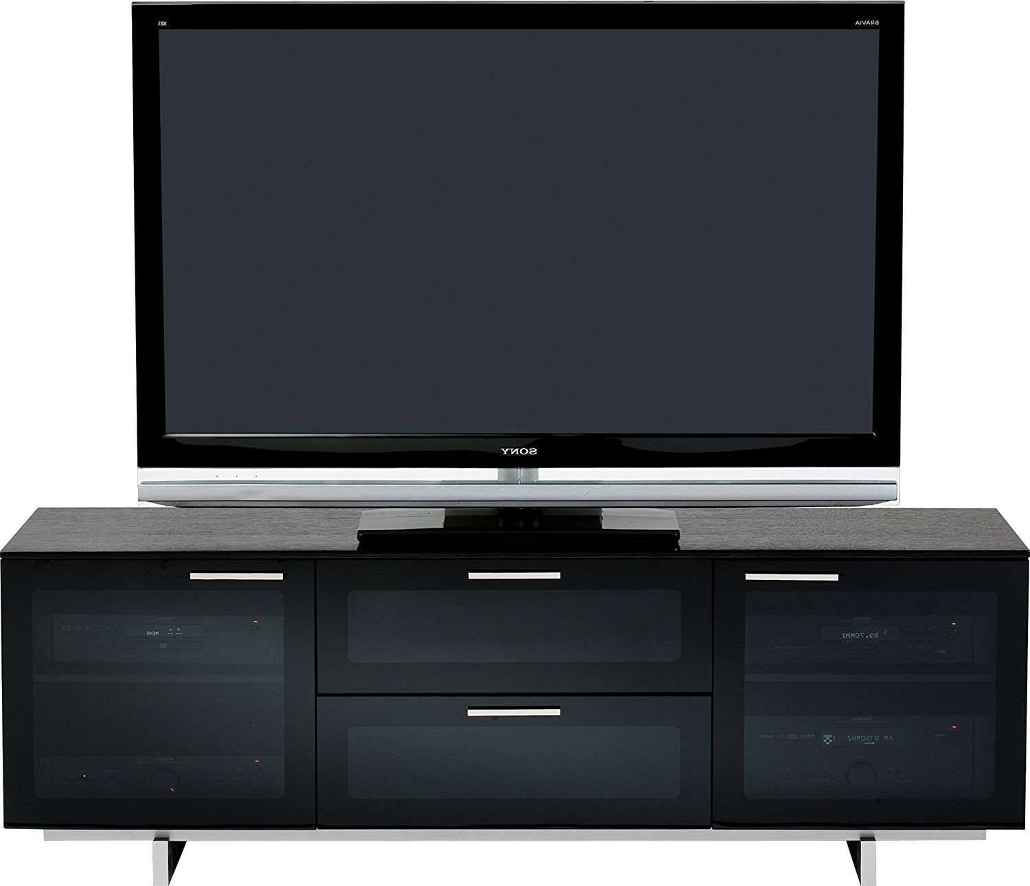Tv Stand : 650202Trq01U Largo Turquoise Mediaabinet Lifestyle Tv Regarding Glass Front Tv Stands (View 20 of 20)