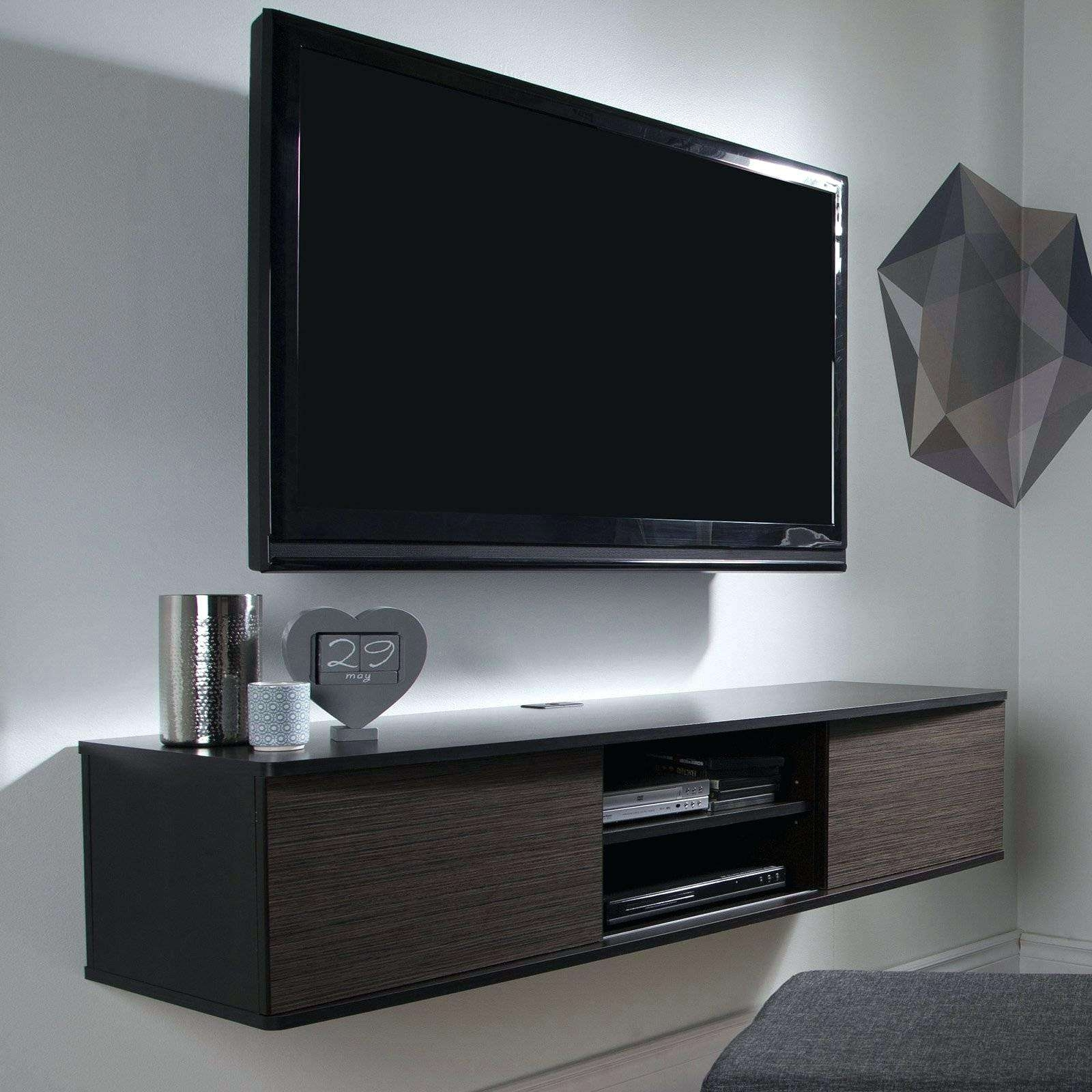 Tv Stand: Contemporary Tv Stand Black (View 15 of 15)