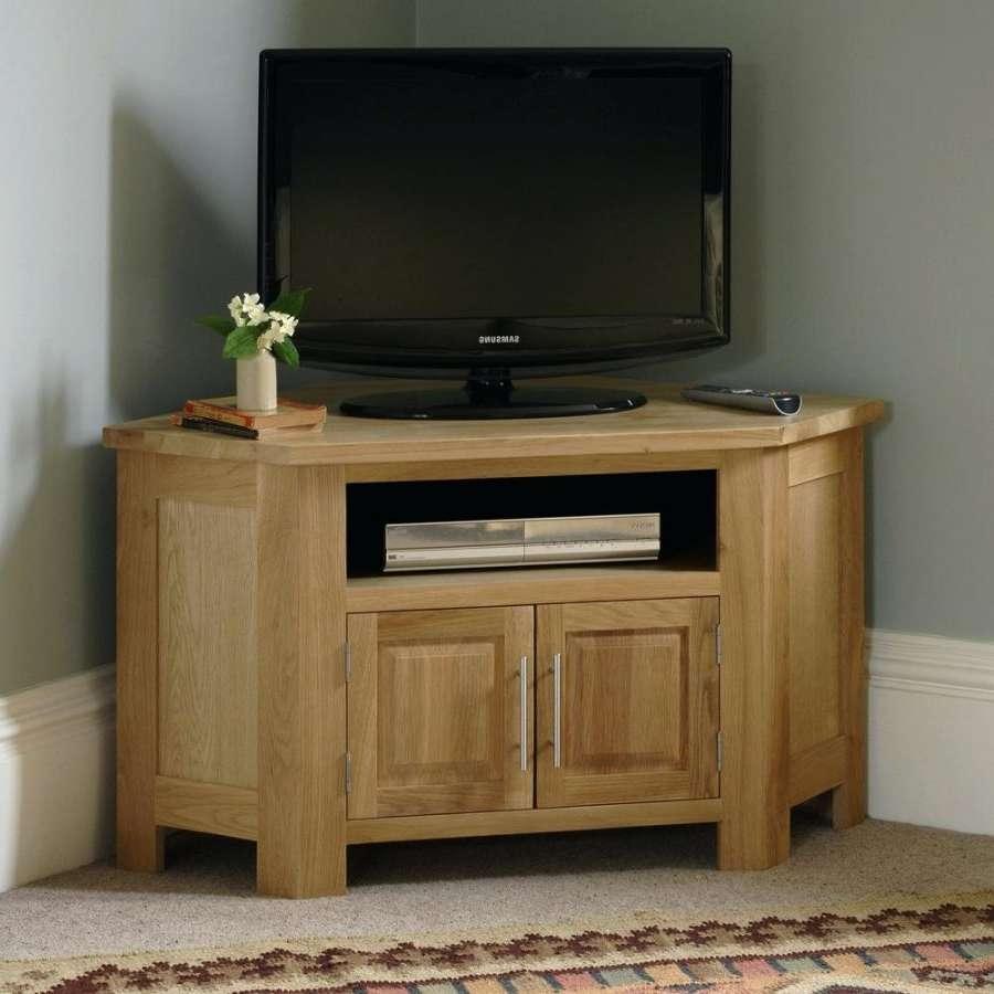 Tv Stand: Corner Oak Tv Stand. Oak Corner Tv Stand Argos (View 14 of 15)