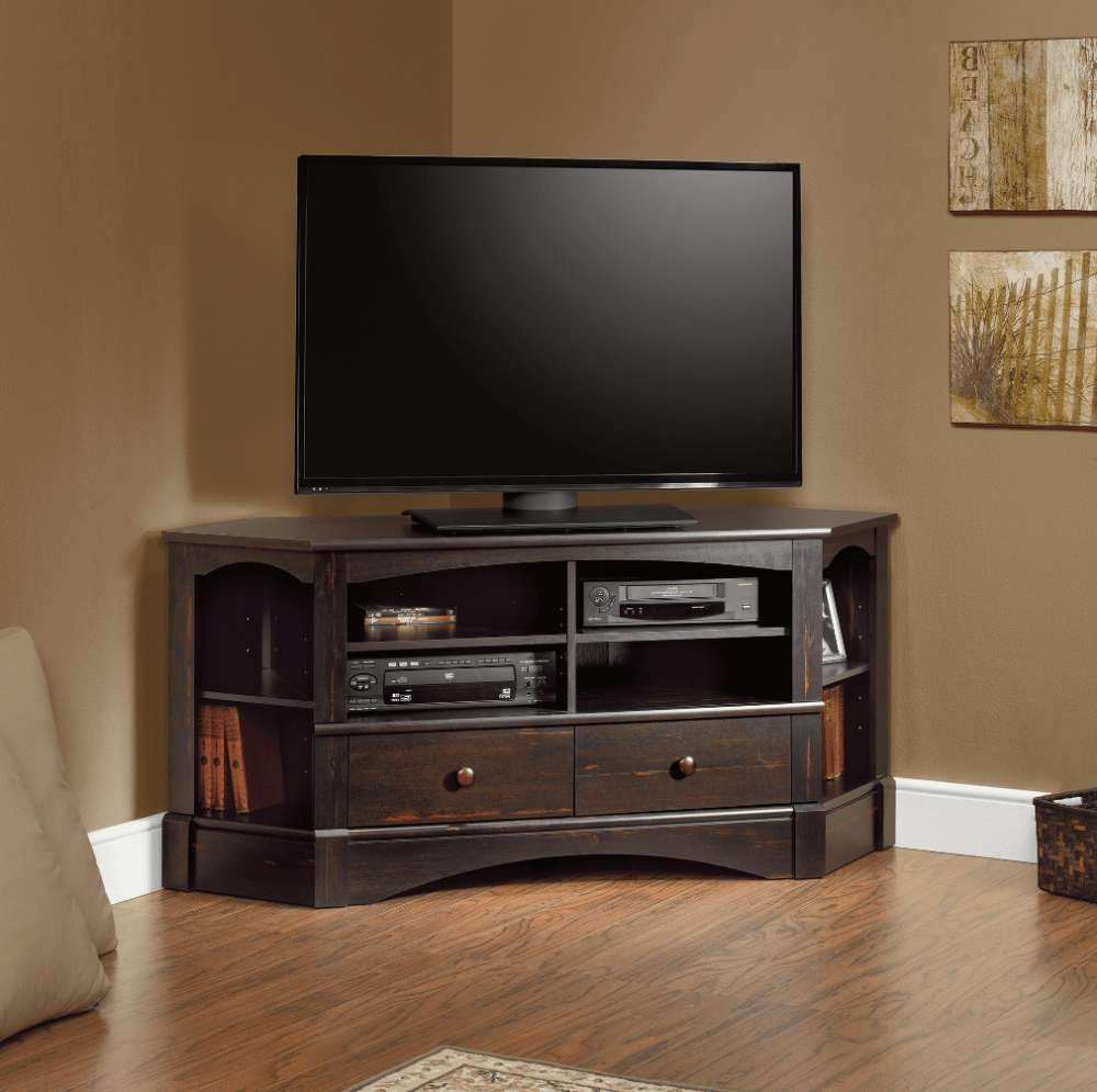 Tv Stand : Corner Tv Stand For Inch Flat Screen Stands Tvs At Regarding 55 Inch Corner Tv Stands (View 4 of 20)